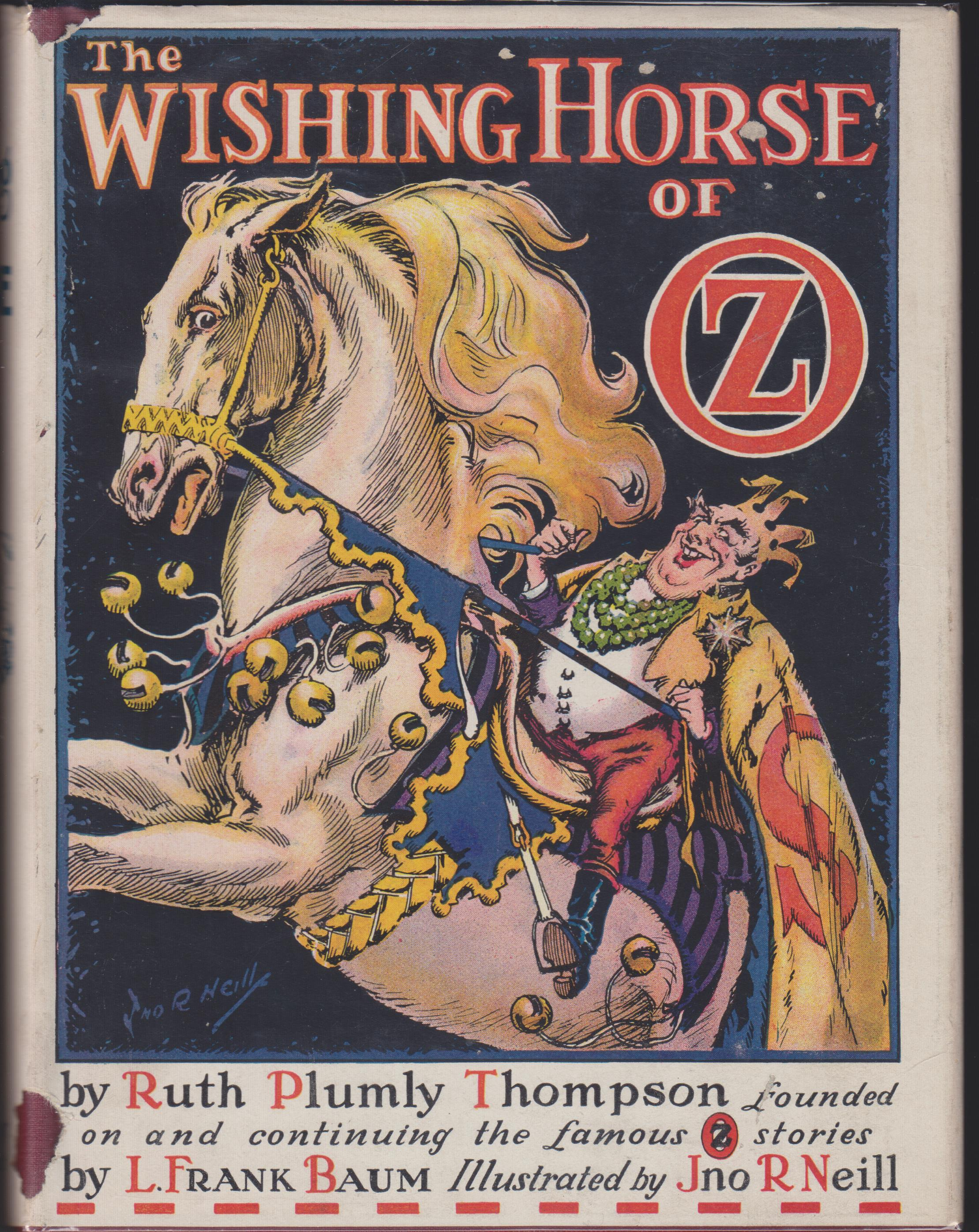 Image for The Wishing Horse of Oz