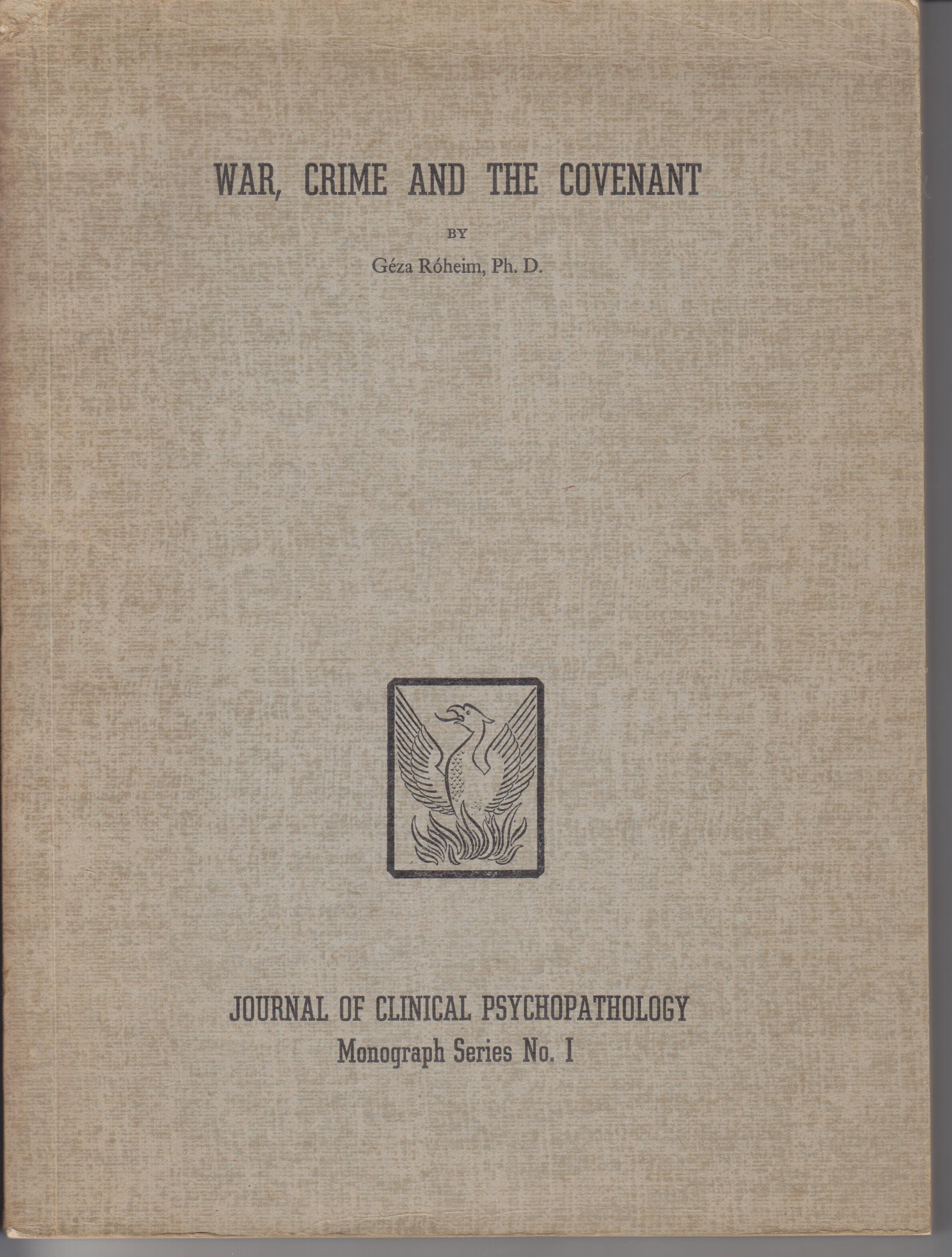 Image for War, Crime and the Covenant