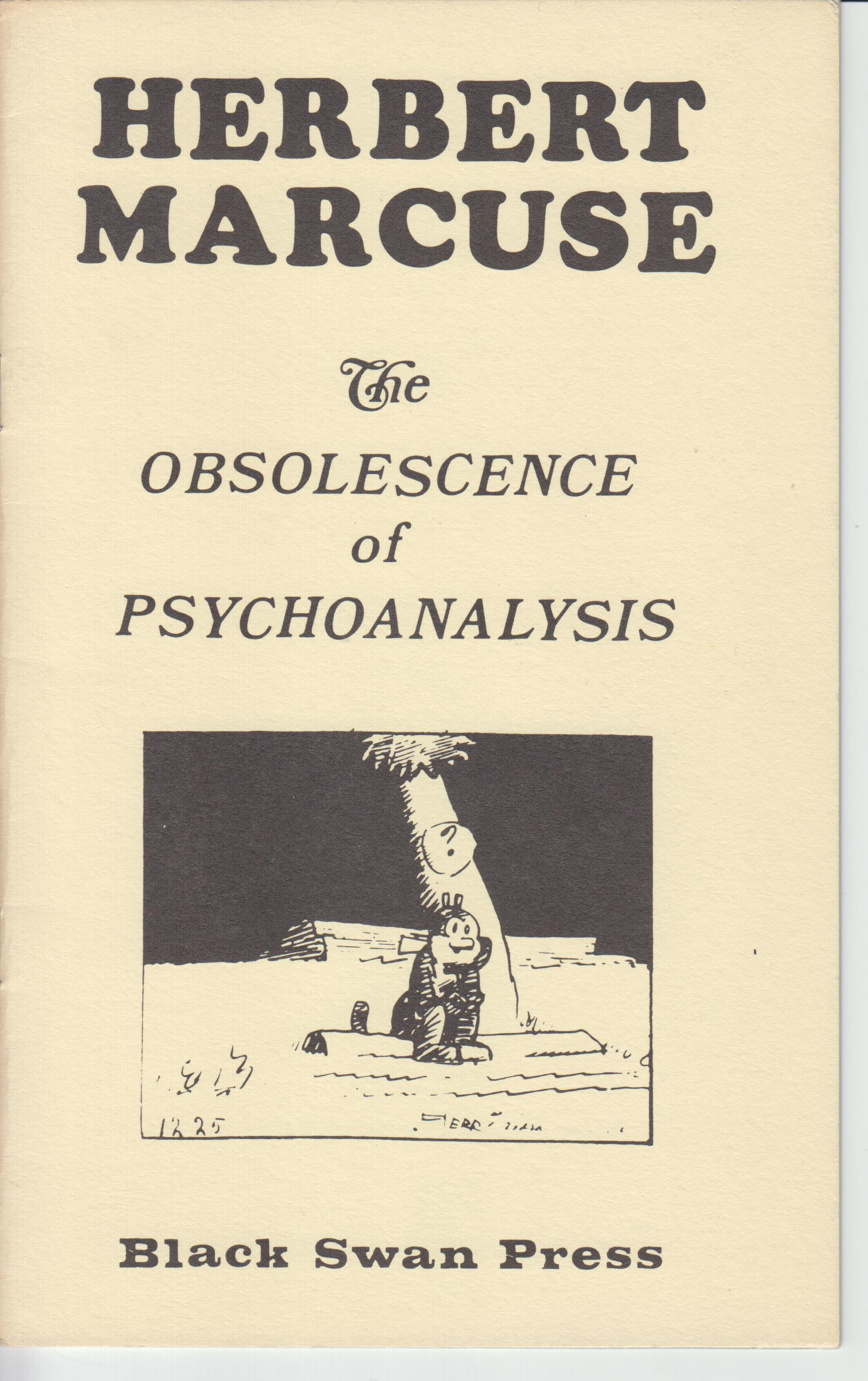 Image for The Obsolescence of Psychoanalysis