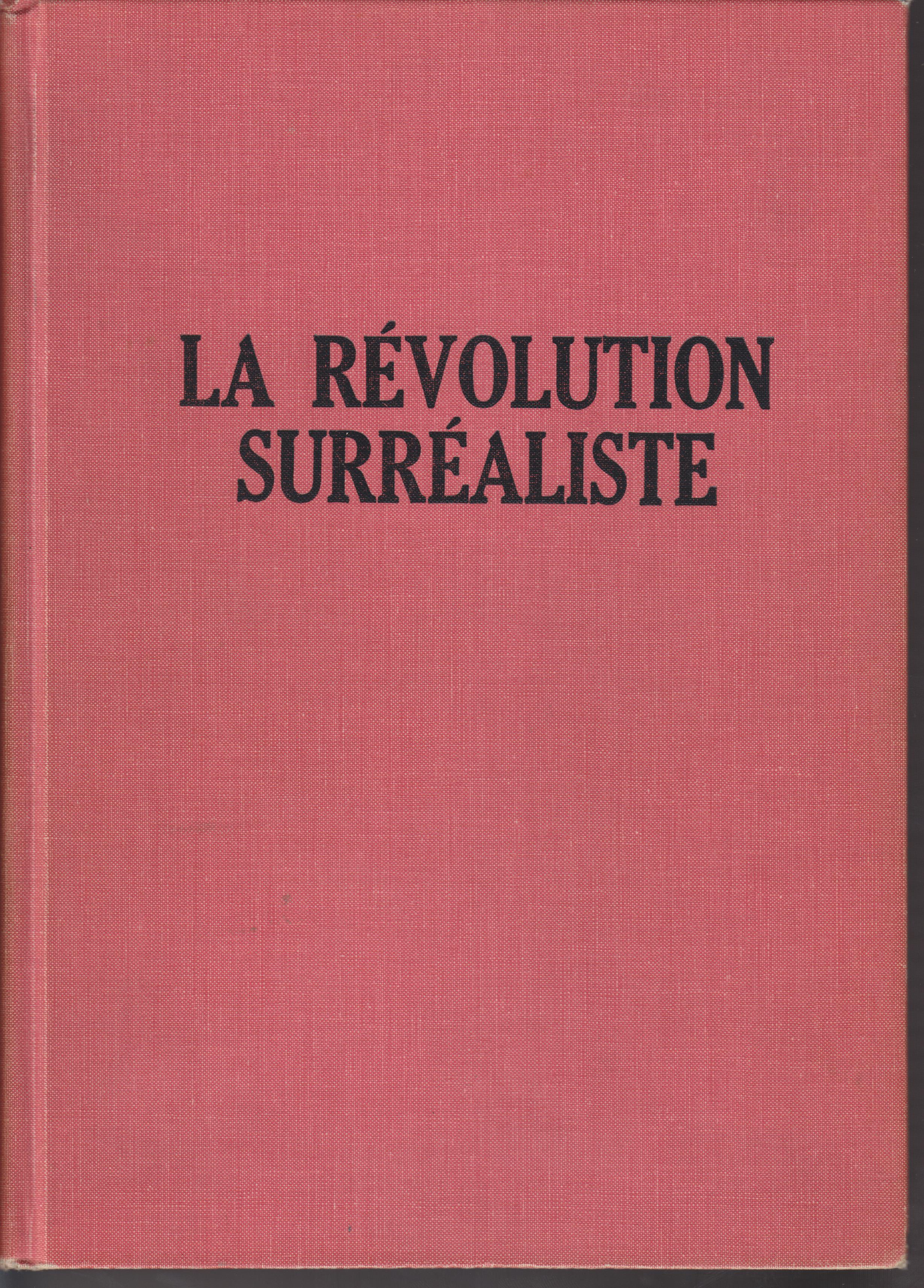 Image for La Revolution Surrealiste 1 - 12 (December 1, 1924 - December 15, 1929)