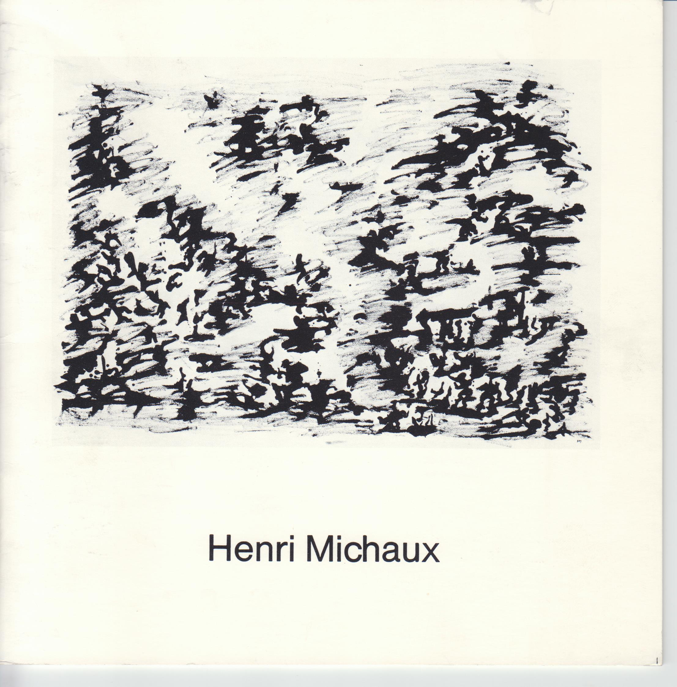 Image for Henri Michaux