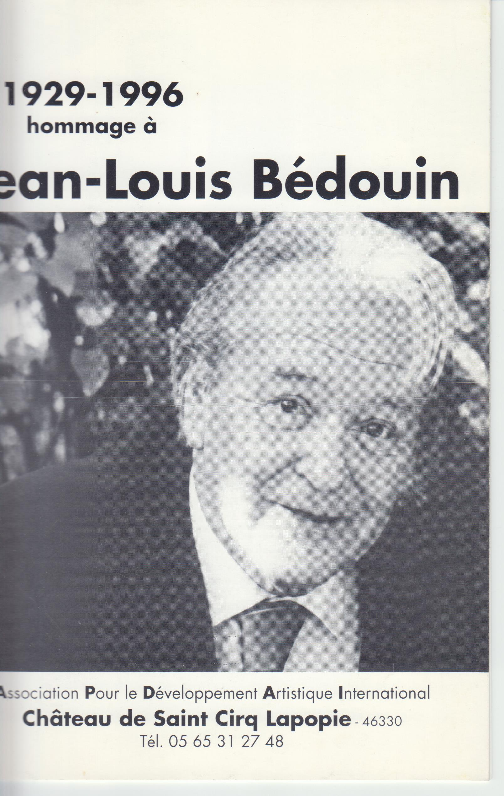 Image for 1929-1996 Hommage a Jean-Louis Bedouin