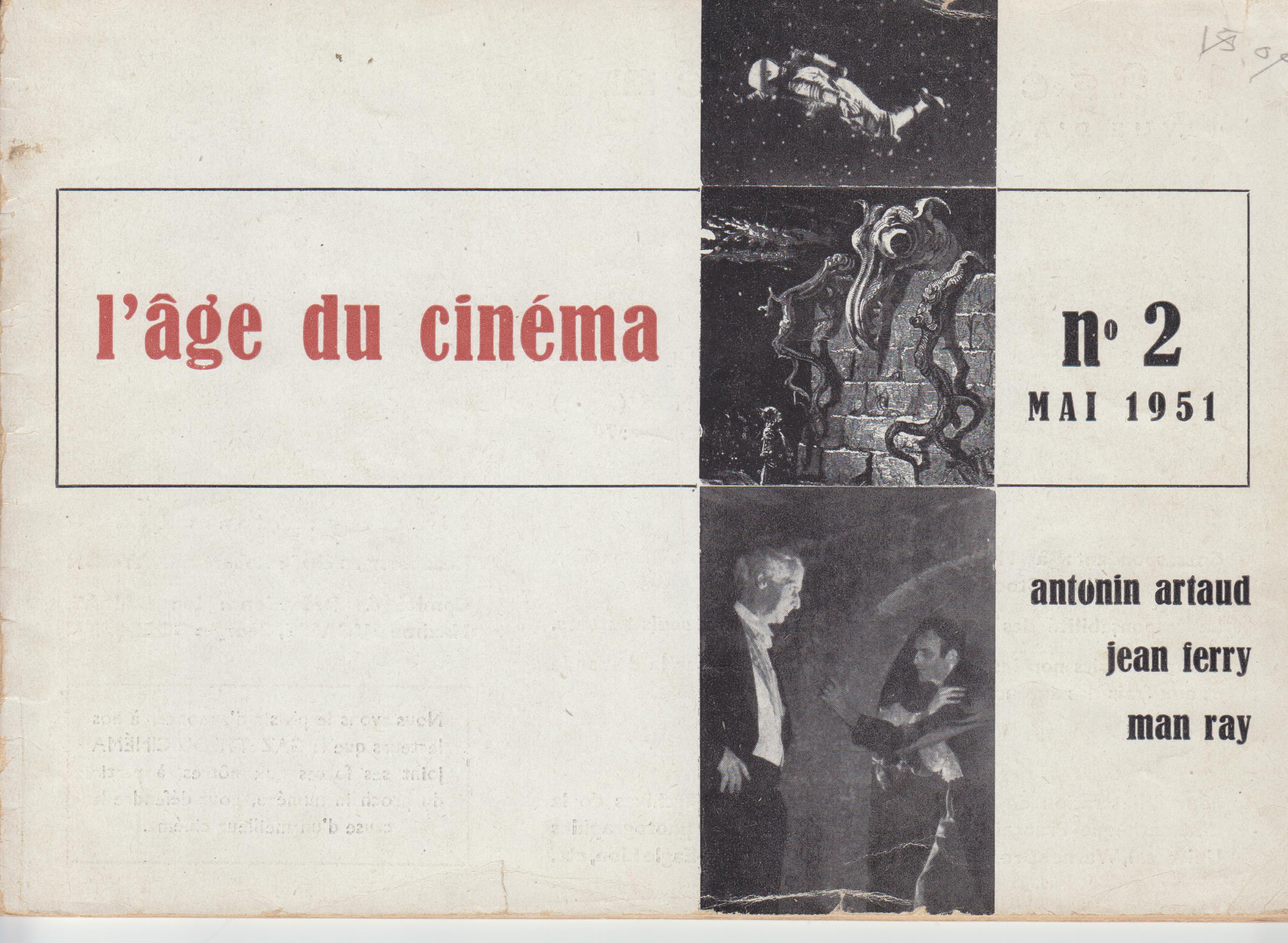 Image for L'Age Du Cinema No. 2 (May 1951)