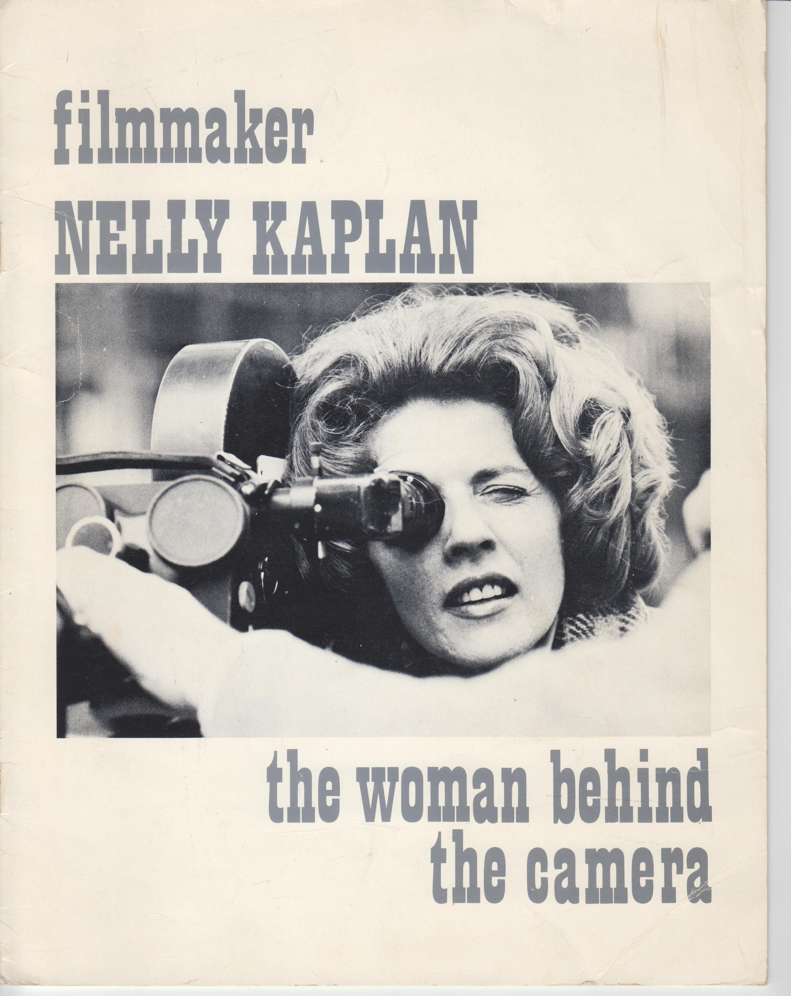 Image for Filmmaker Nelly Kaplan. the Woman Behind the Camera