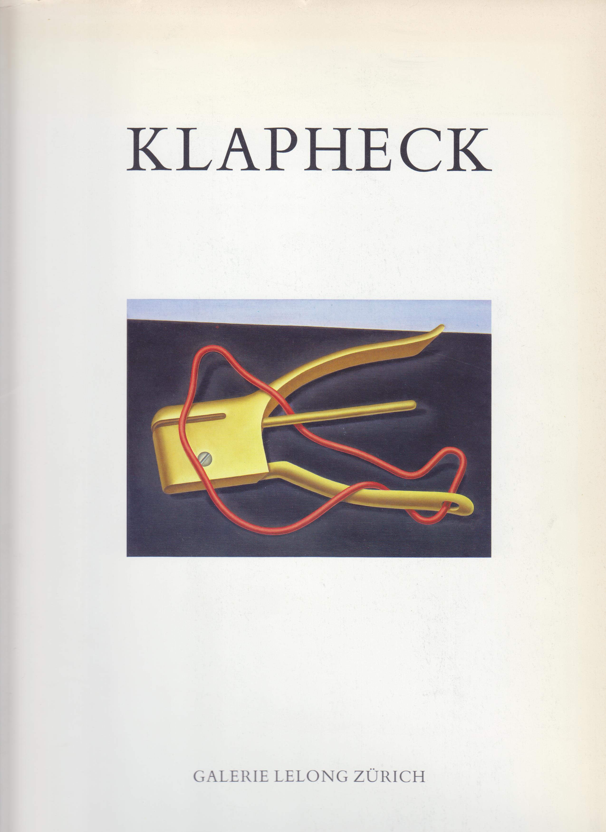 Image for Klapheck