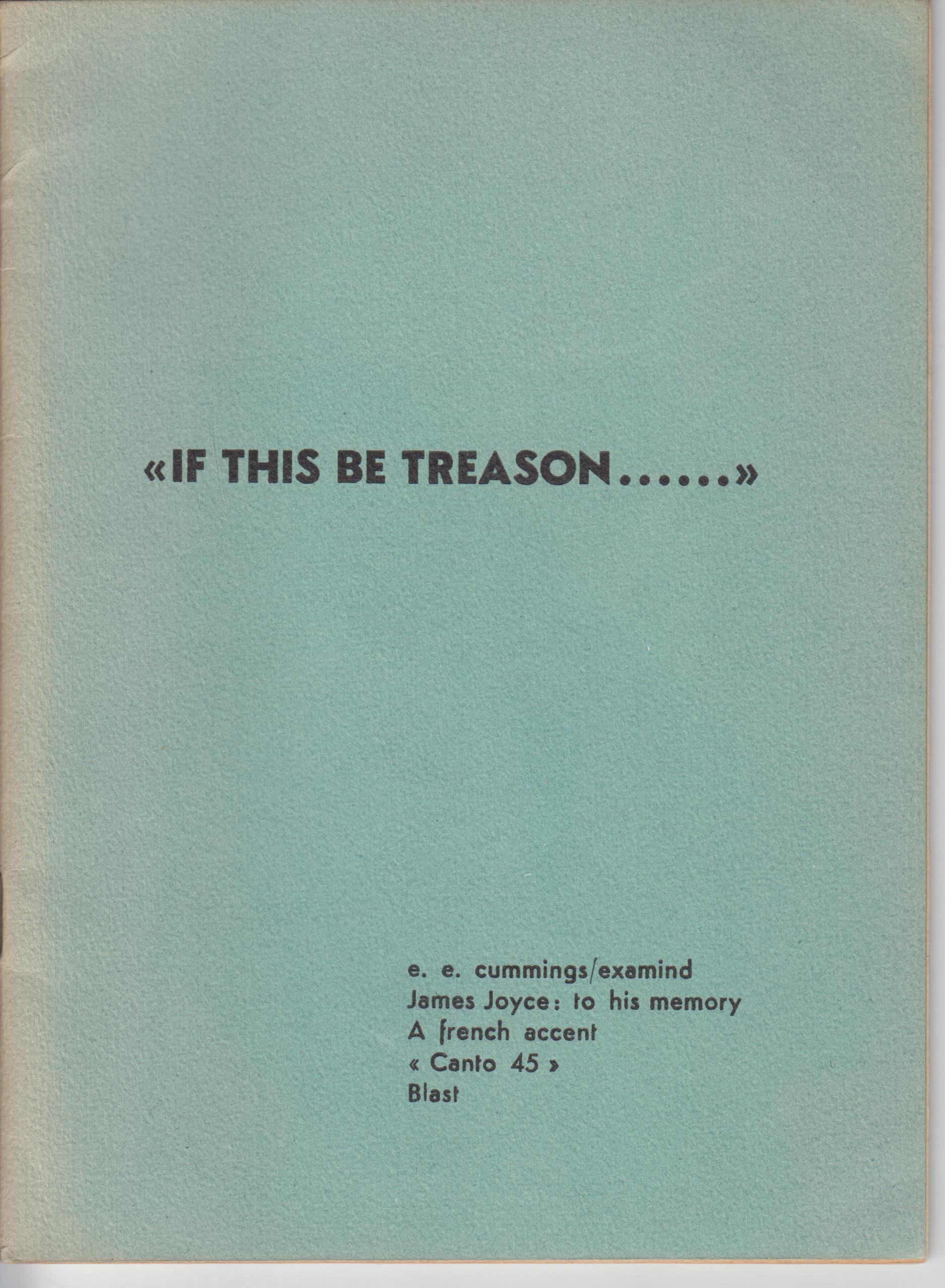"Image for ""If This Be Treason......"""