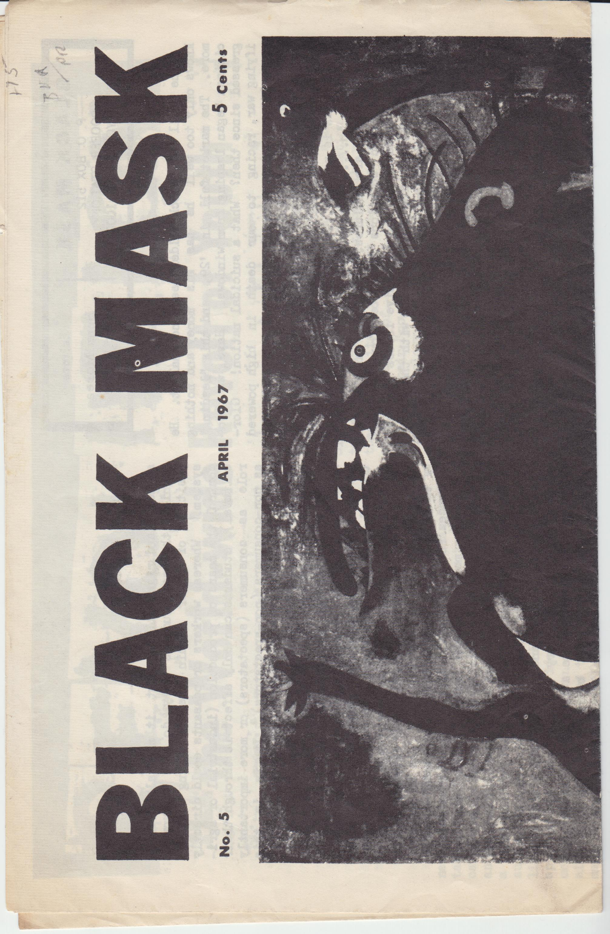 Image for Black Mask No. 5 (April 1967)