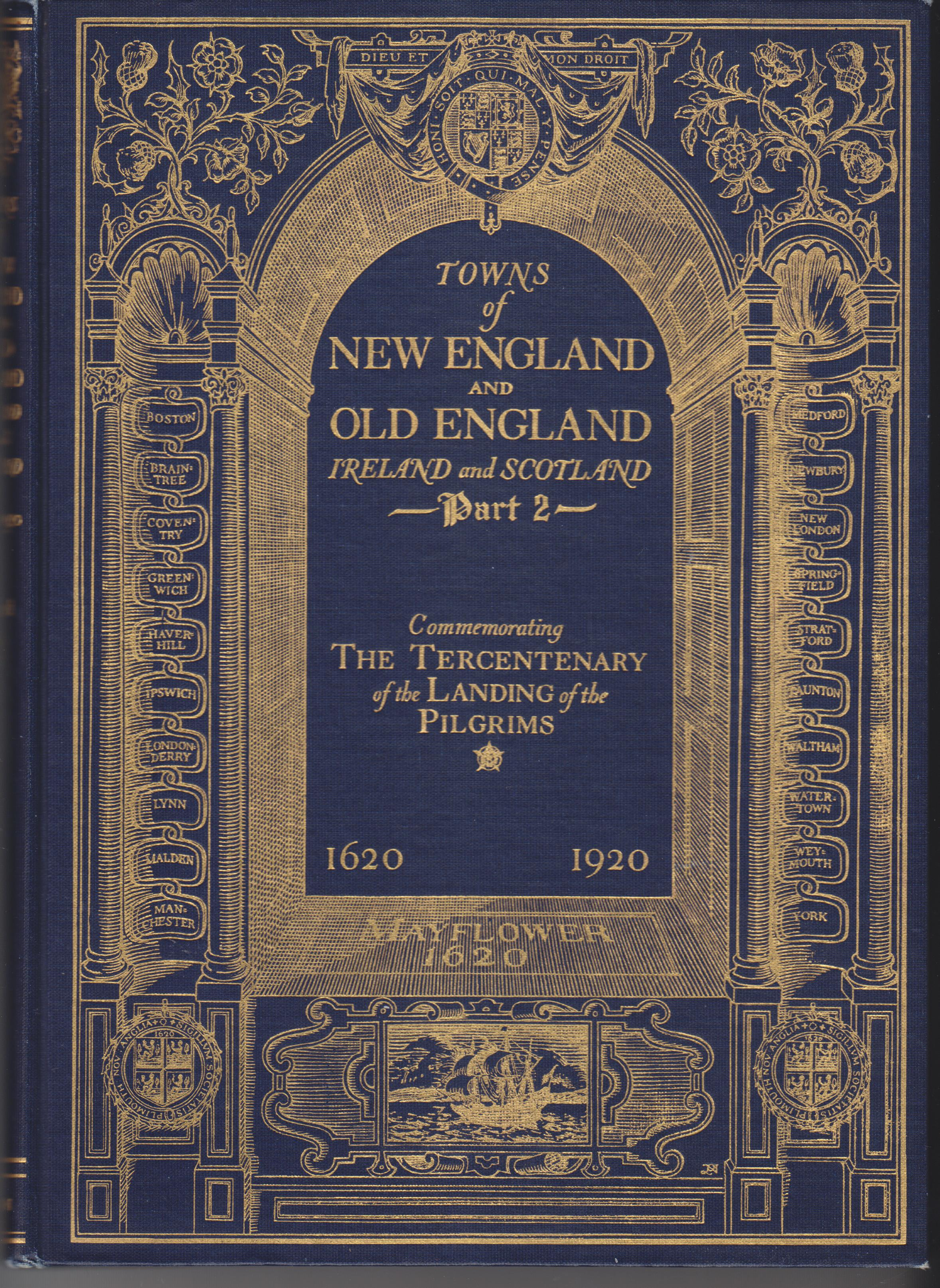 Image for Towns of New England and Old England, Ireland and Scotland