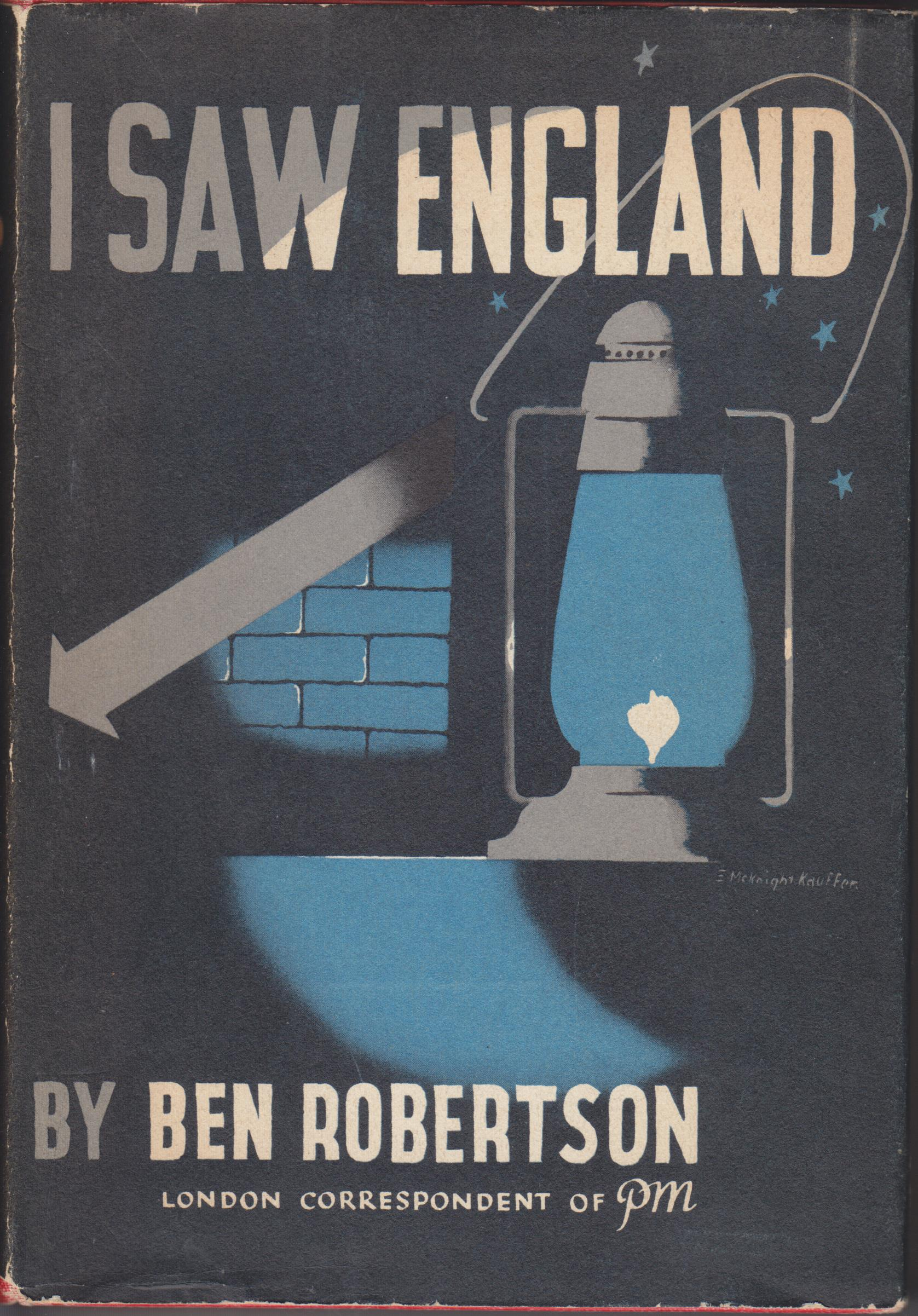 Image for I Saw England