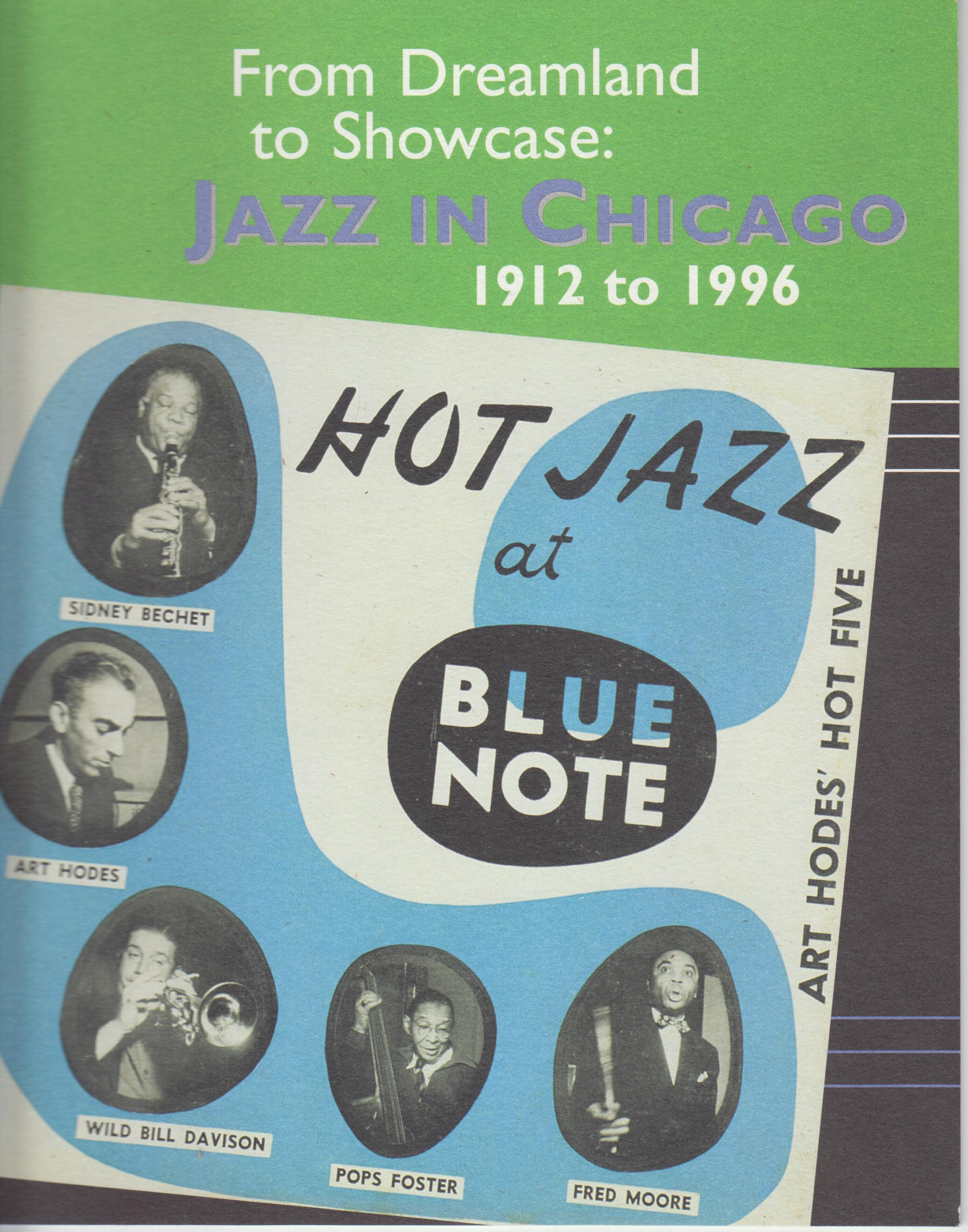 Image for From Dreamland to Showcase. Jazz in Chicago, 1912-1996