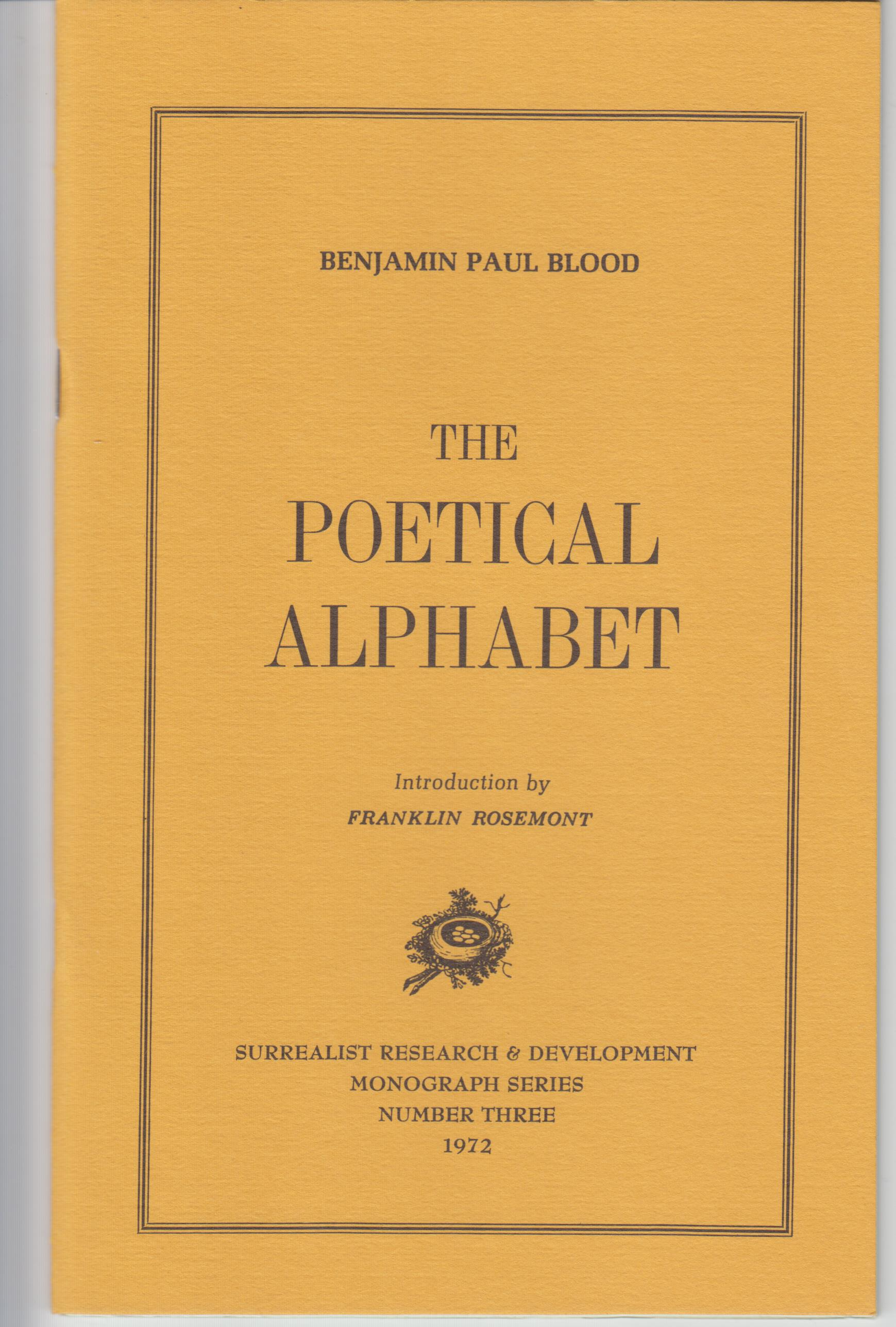 Image for The Poetical Alphabet
