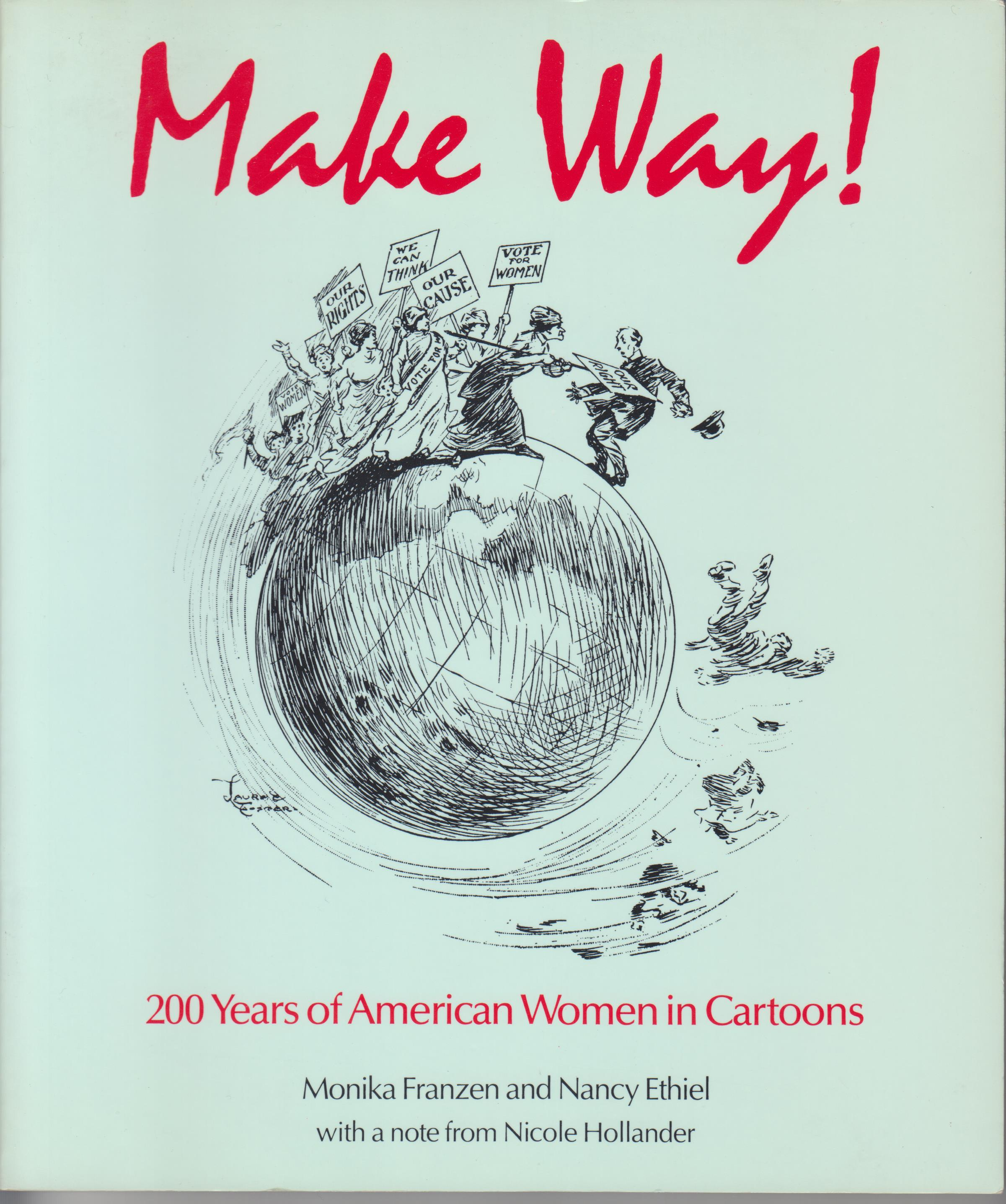 Image for Make Way! 200 Years of American Women in Cartoons