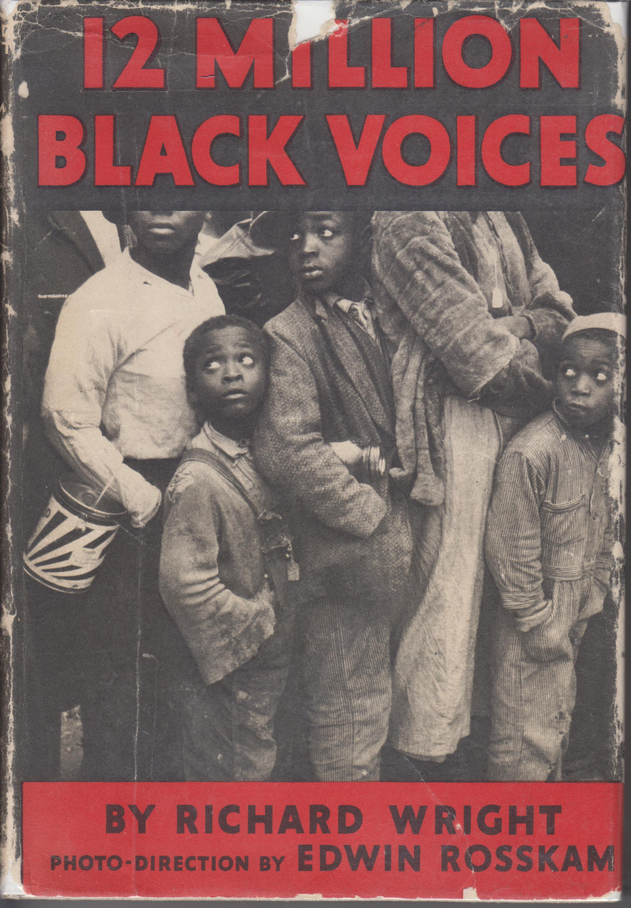 Image for 12 Million Black Voices. A Folk-History of the Negro in the United States