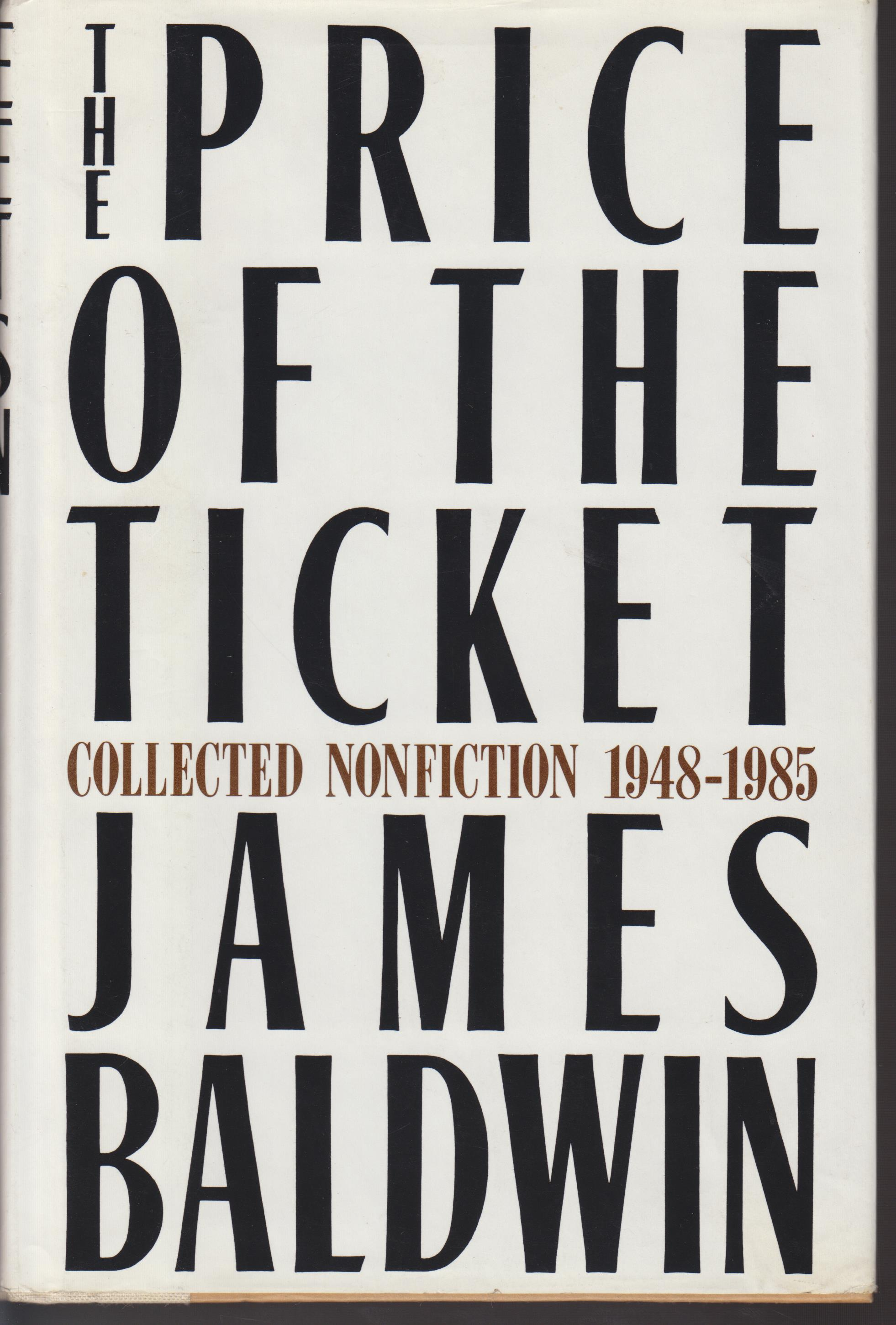 Image for The Price of the Ticket. Collected Nonfiction 1948-1985