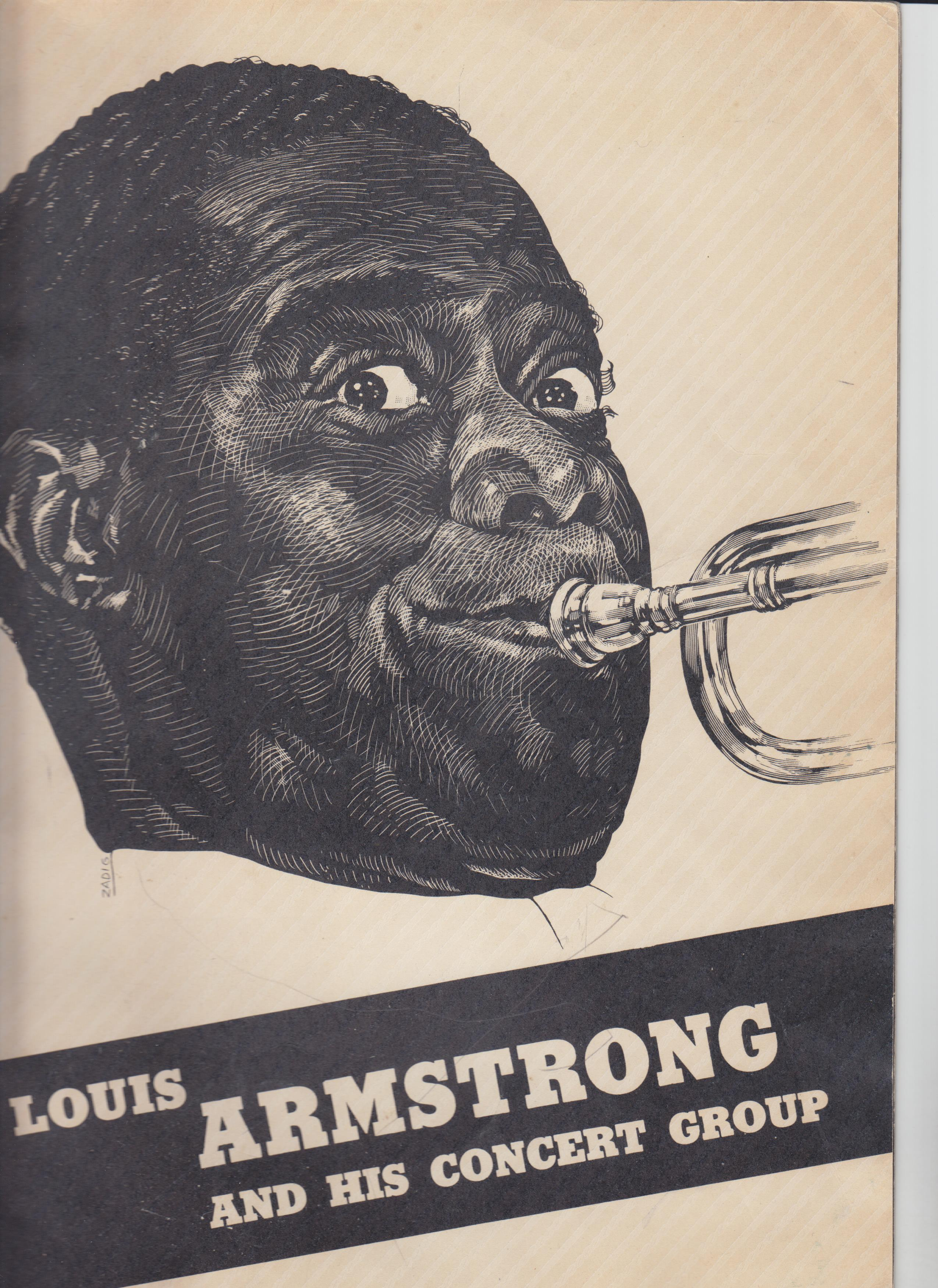 Image for Louis Armstrong And His Concert Group [Program]