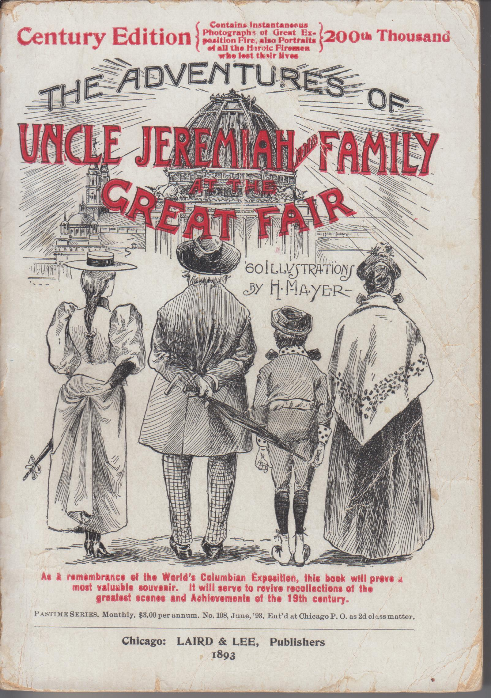 Image for Uncle Jeremiah and Family at the Great Fair. Their Observations and Triumphs