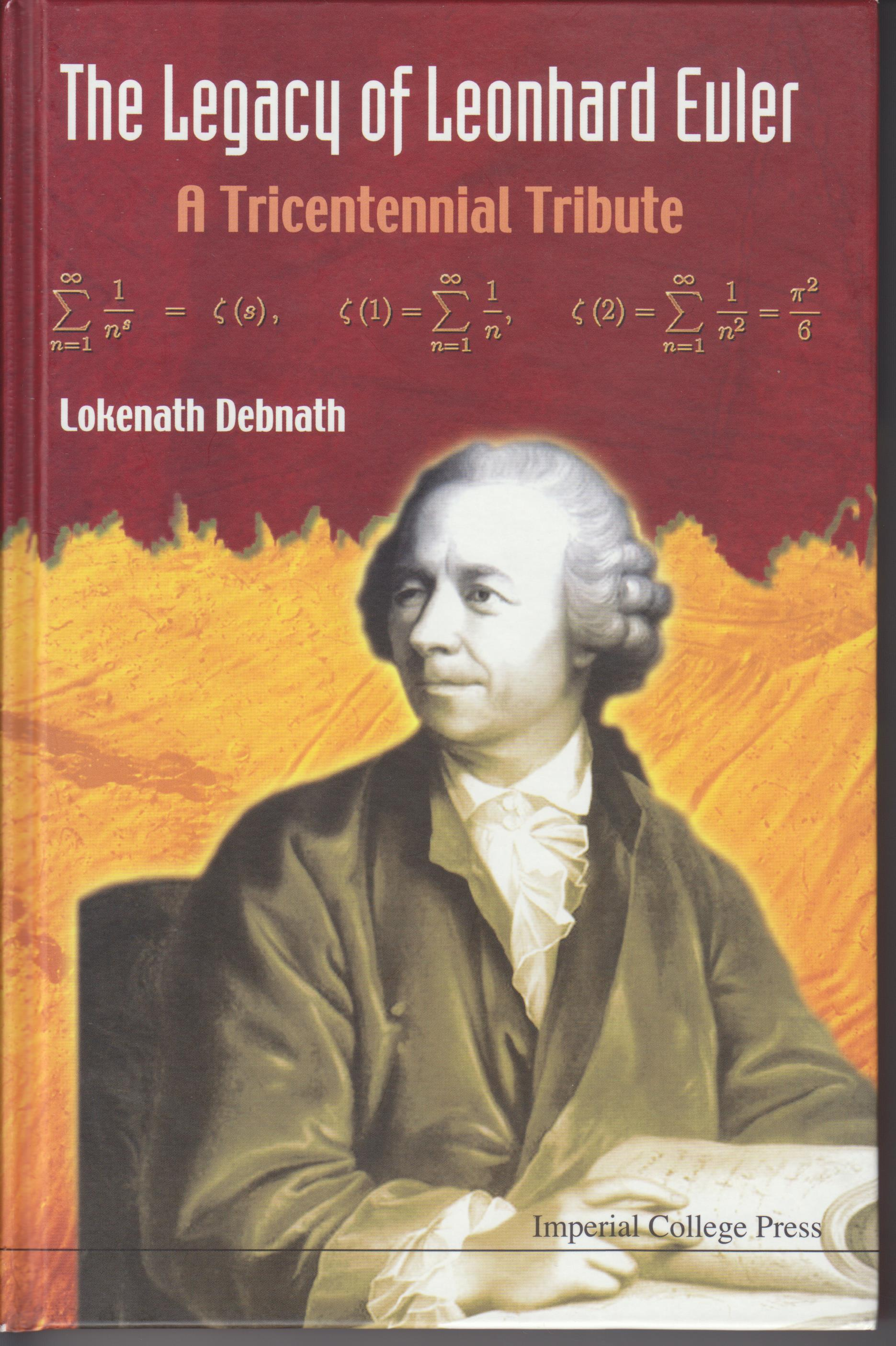 Image for The Legacy of Leonhard Euler. A Tricentennial Tribute