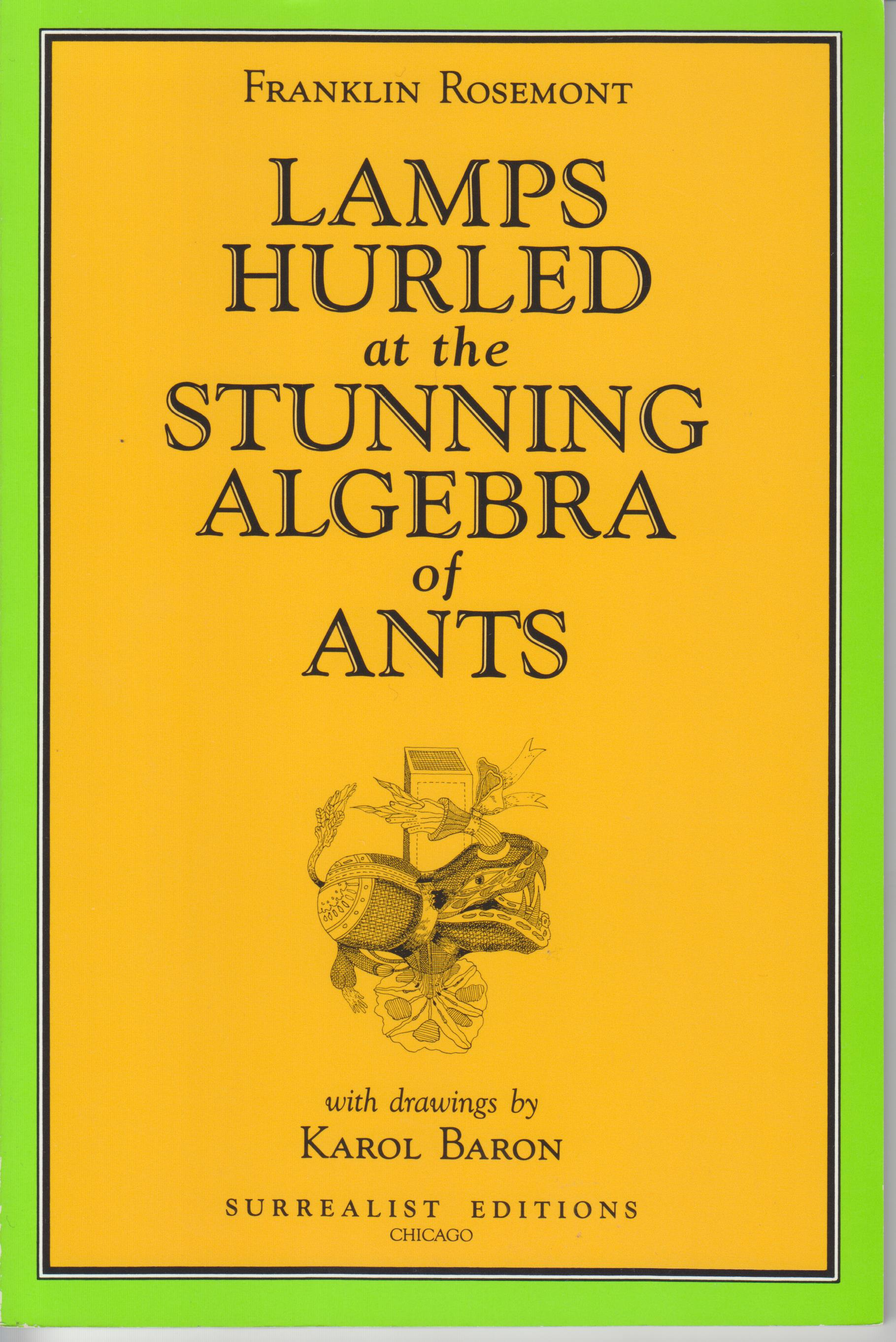 Image for Lamps Hurled at the Stunning Algebra of Ants