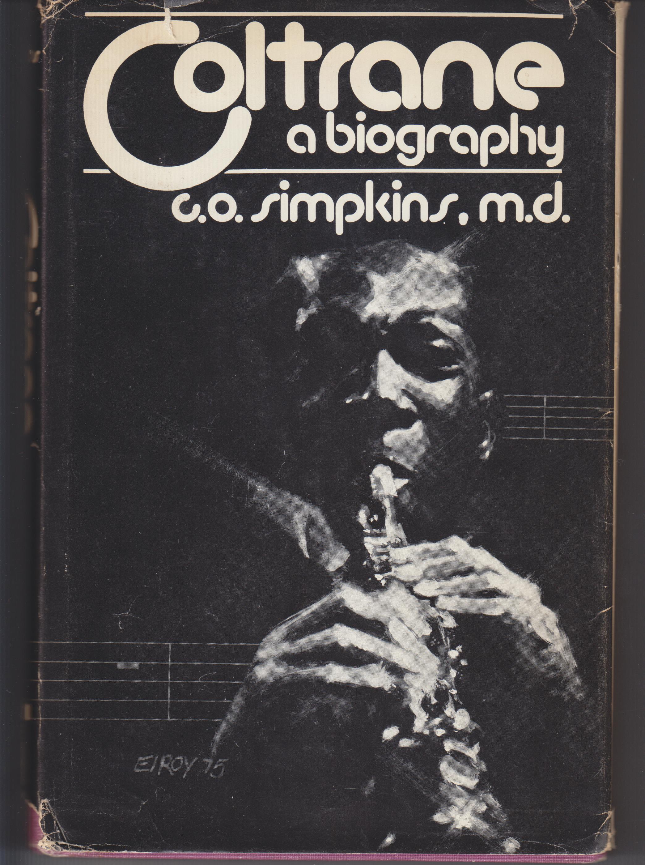 Image for Coltrane. A Biography