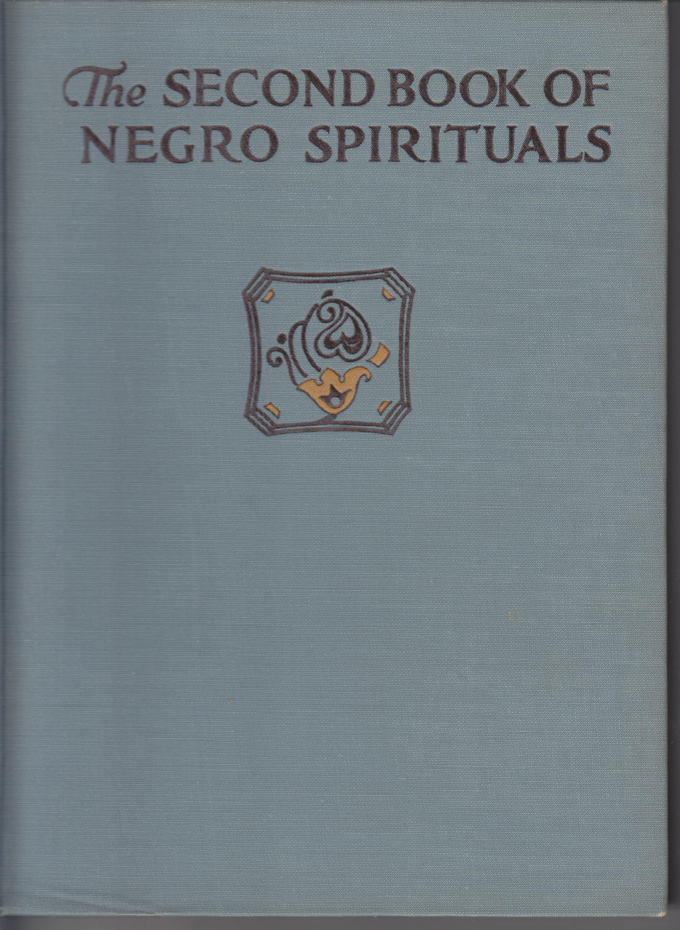 Image for The Second Book of Negro  Spirituals