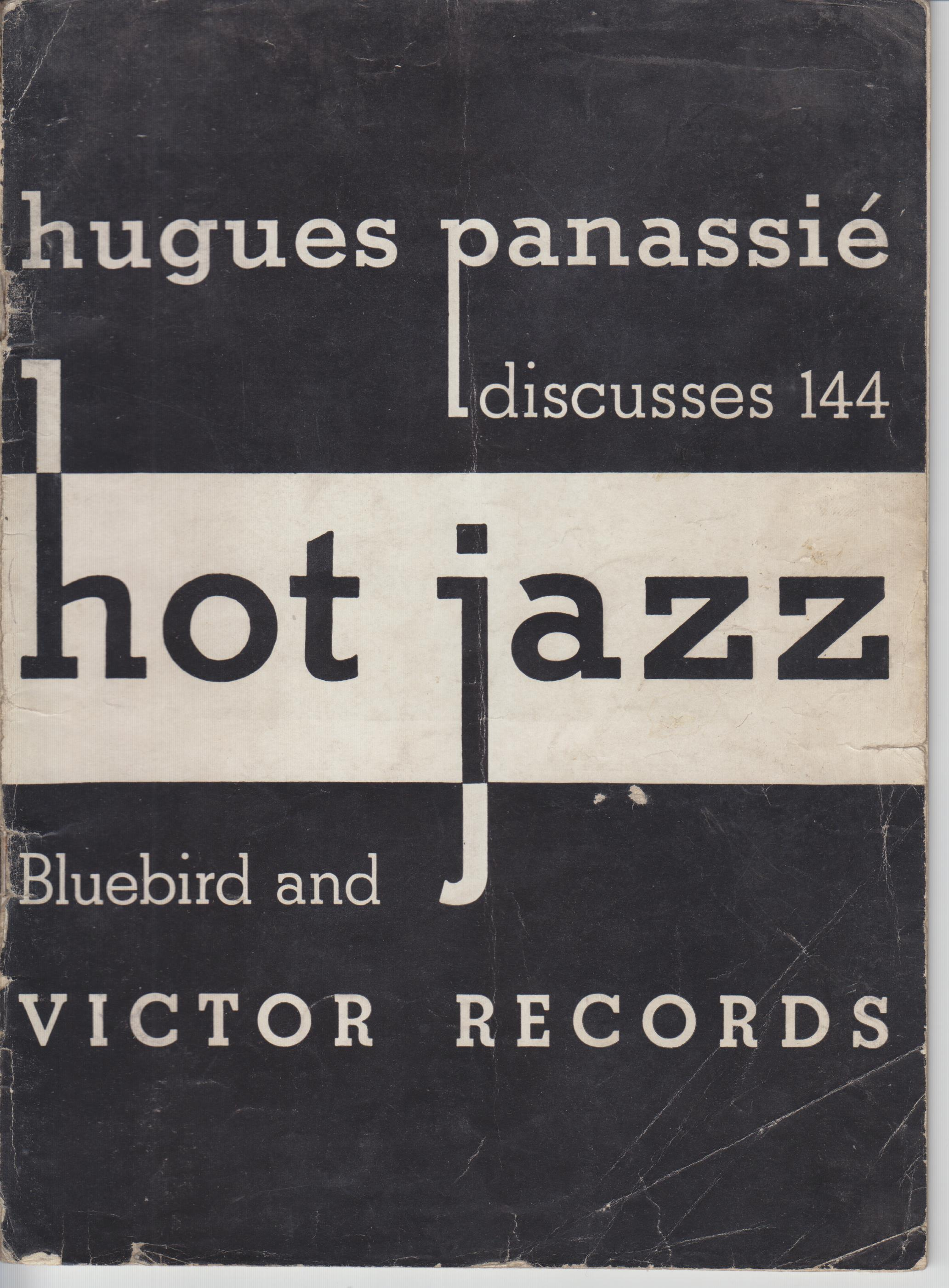 Image for Hugues Panassie Discusses 144 Hot Jazz Bluebird and Victor Records