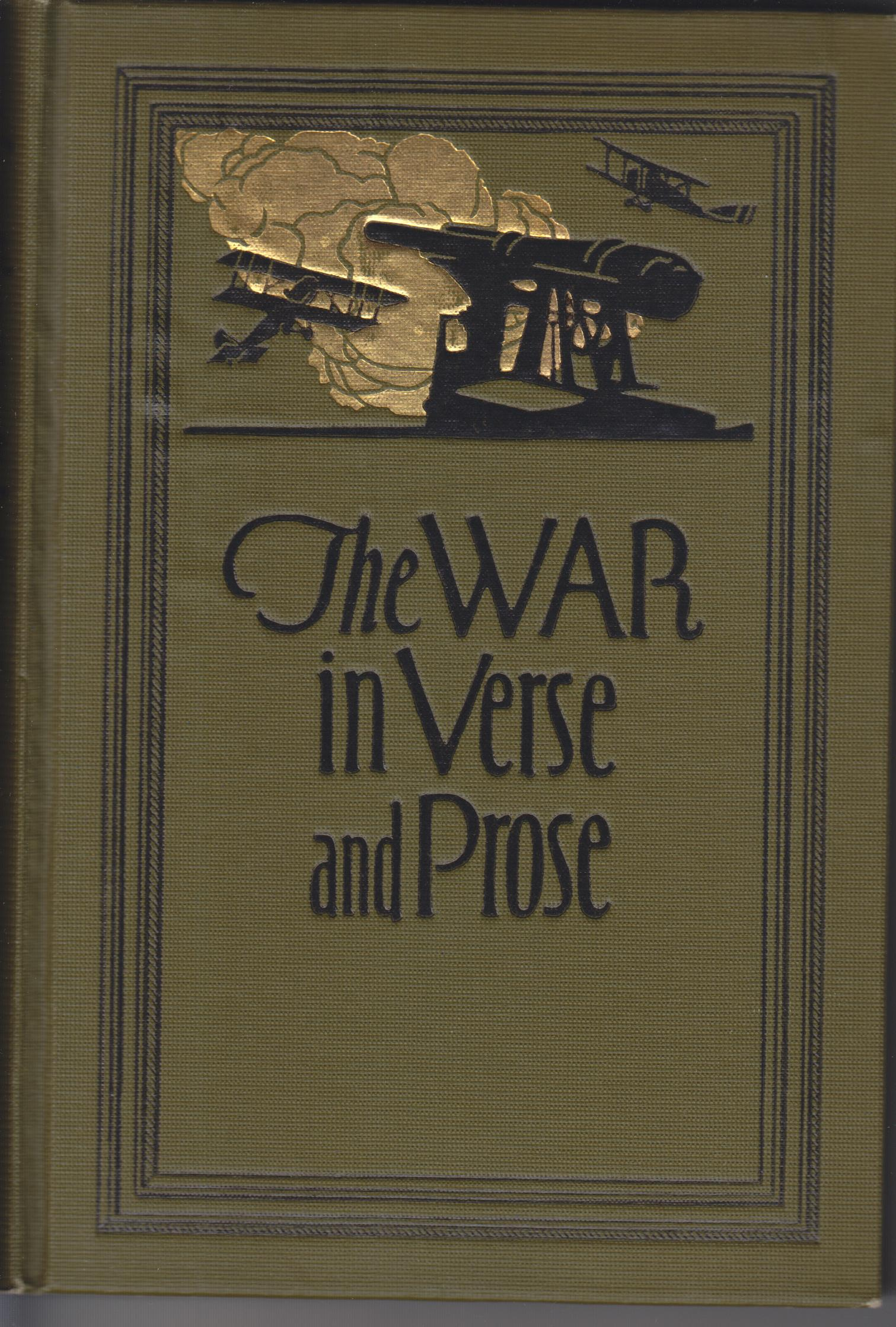 Image for The War in Verse and Prose