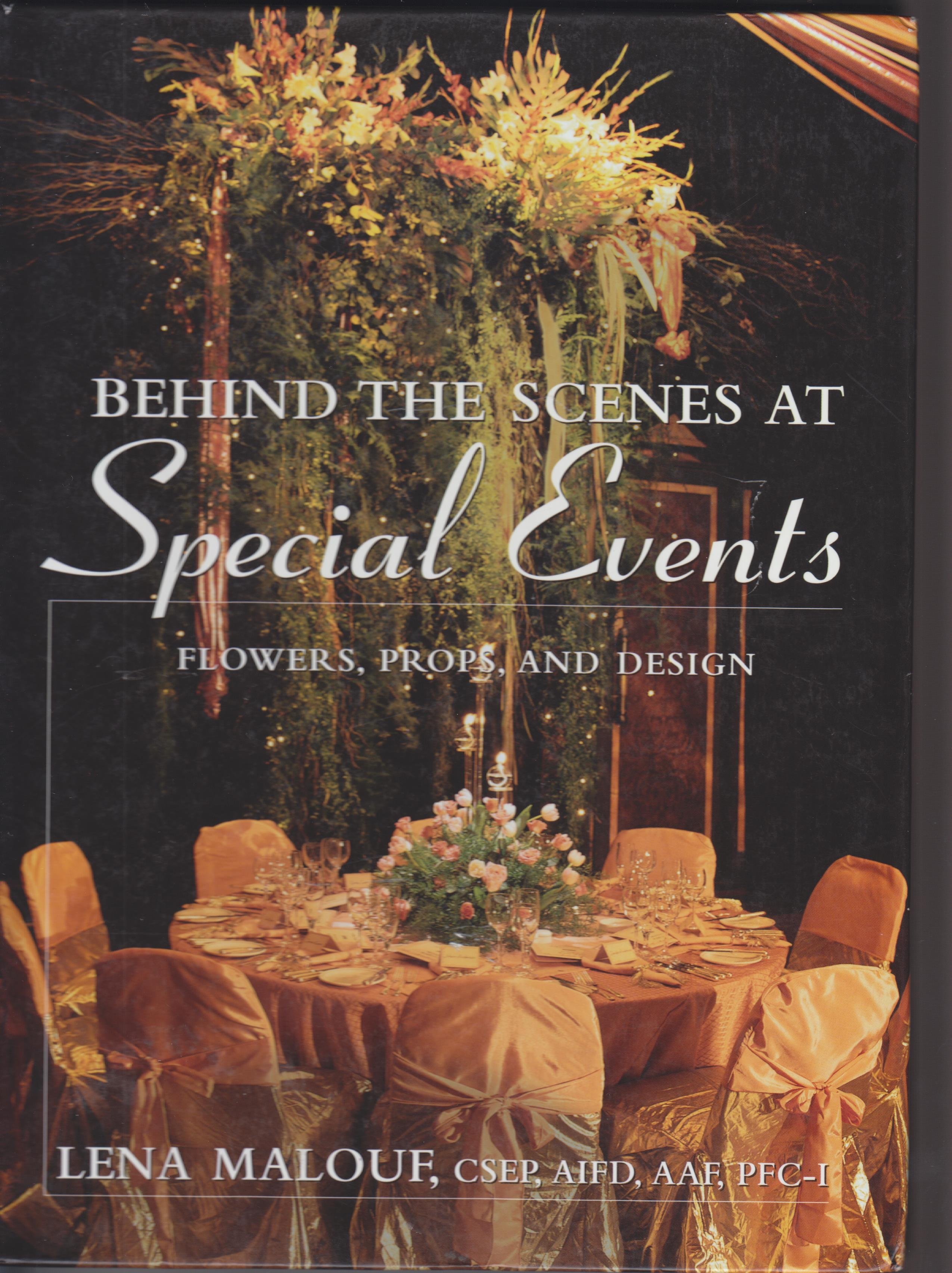 Image for Behind the Scenes at Special Events.