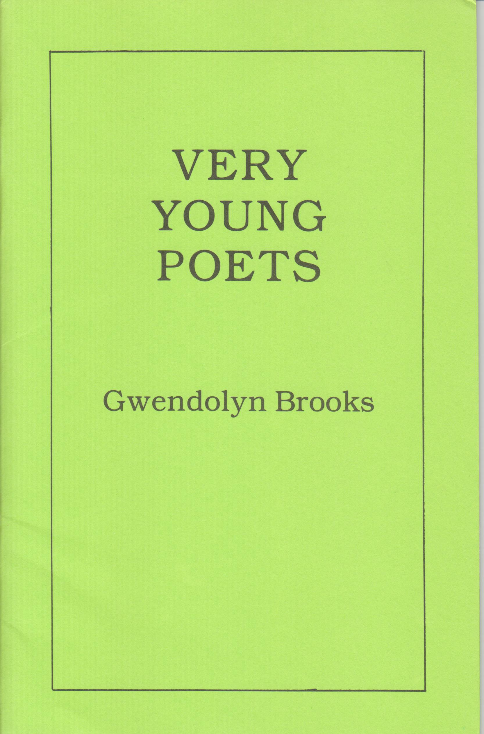 Image for Very Young Poets