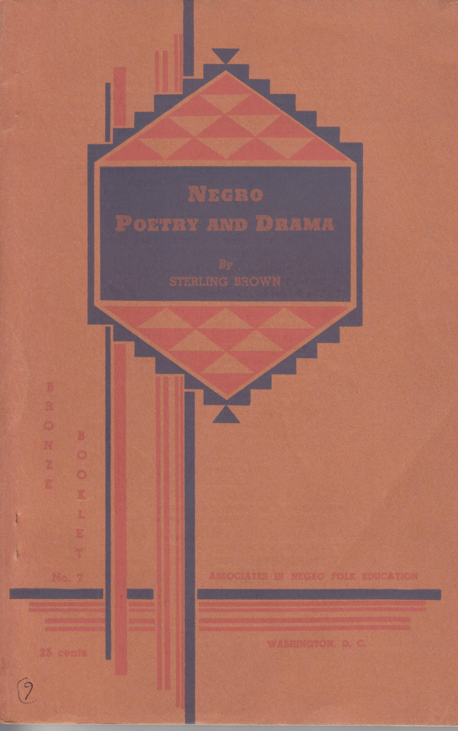 Image for Negro Poetry and Drama