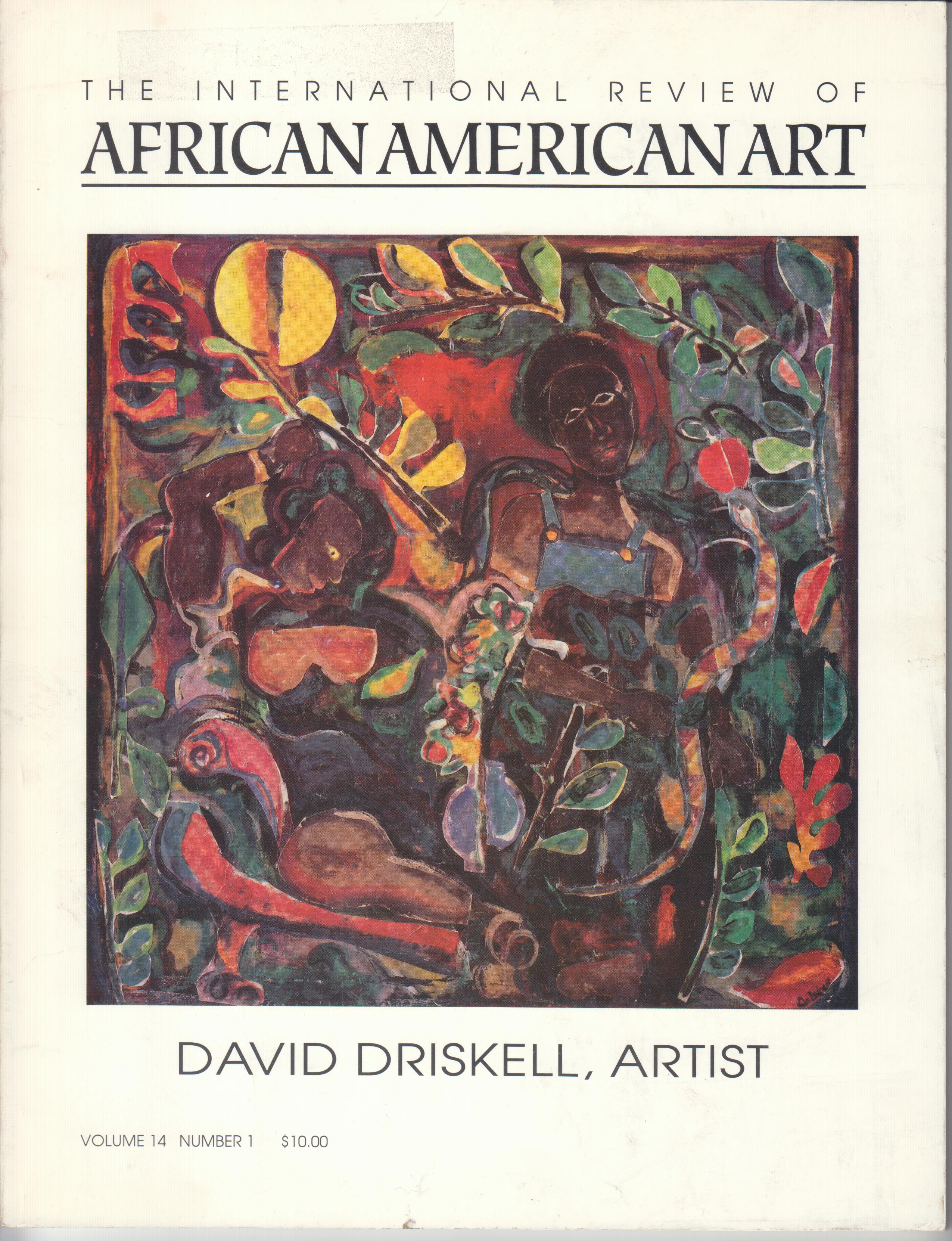 Image for The International Review of African American Art Volume 14, Number 1