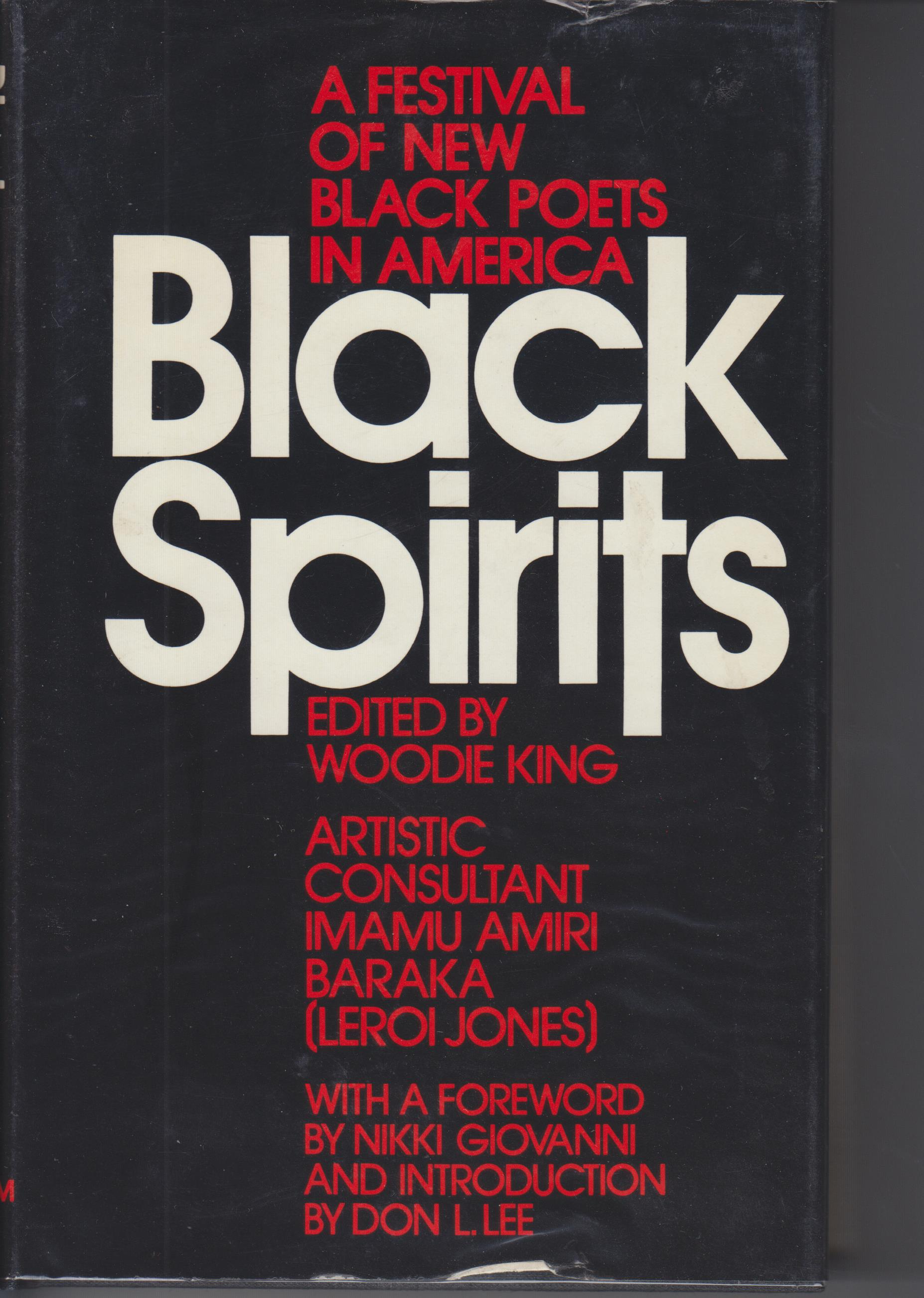Image for Black Spirits. A Festival of New Black Poets in America
