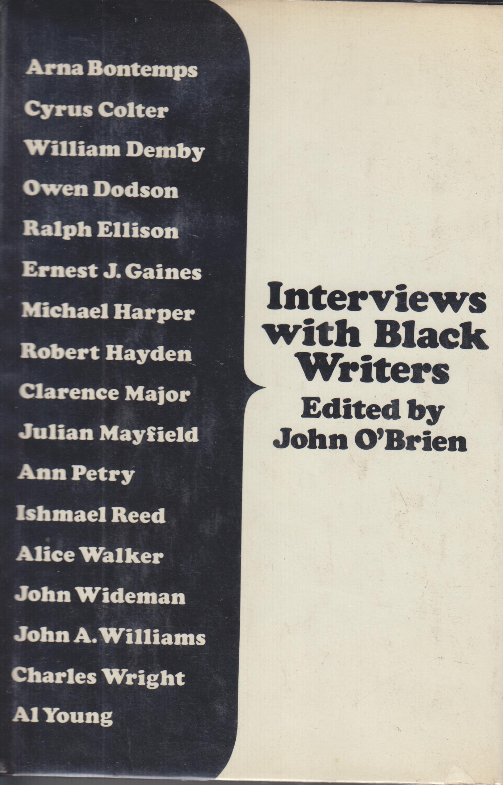 Image for Interviews with Back Writers