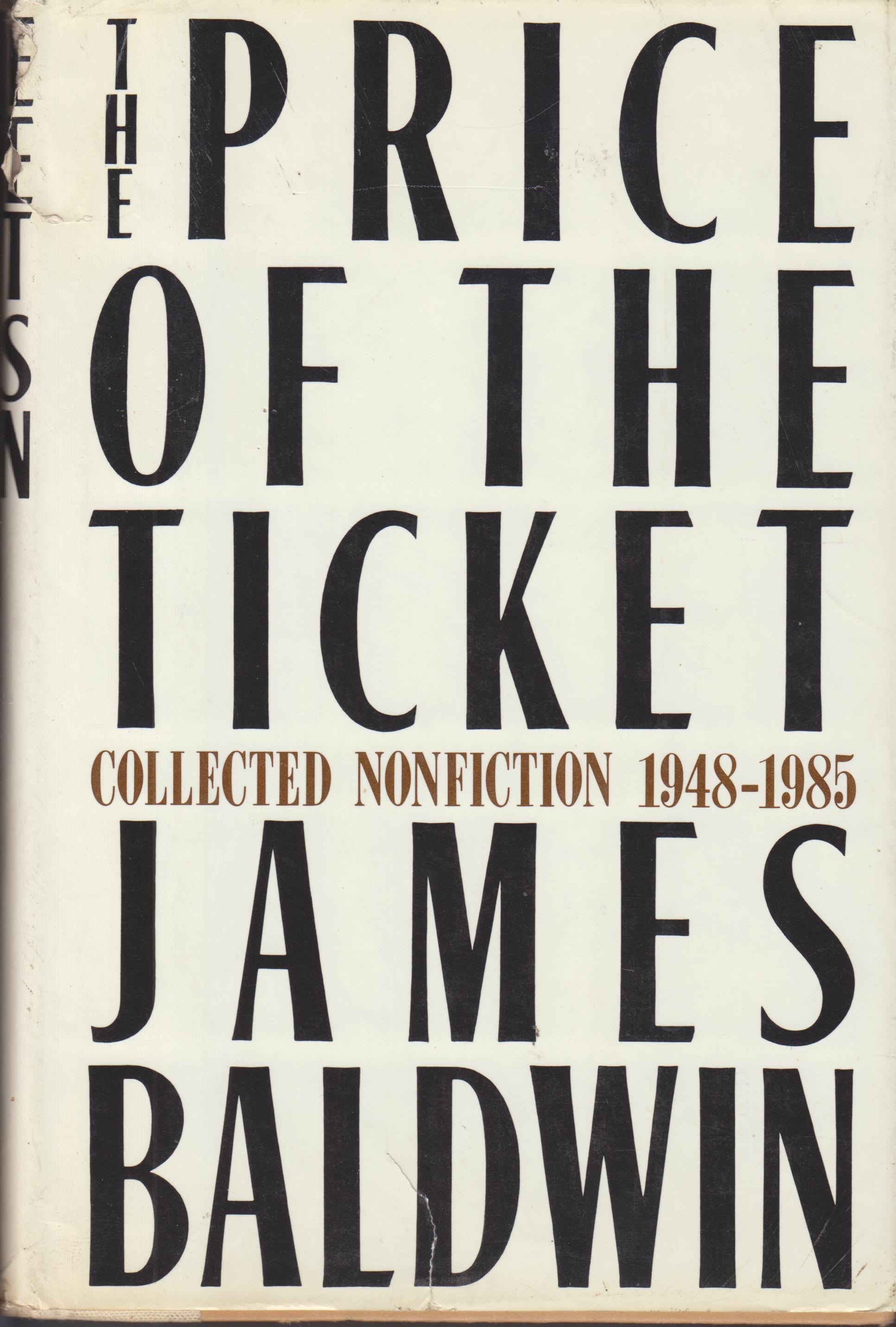 Image for The Price of the Ticket. Collected Non-Fiction 1948-1985