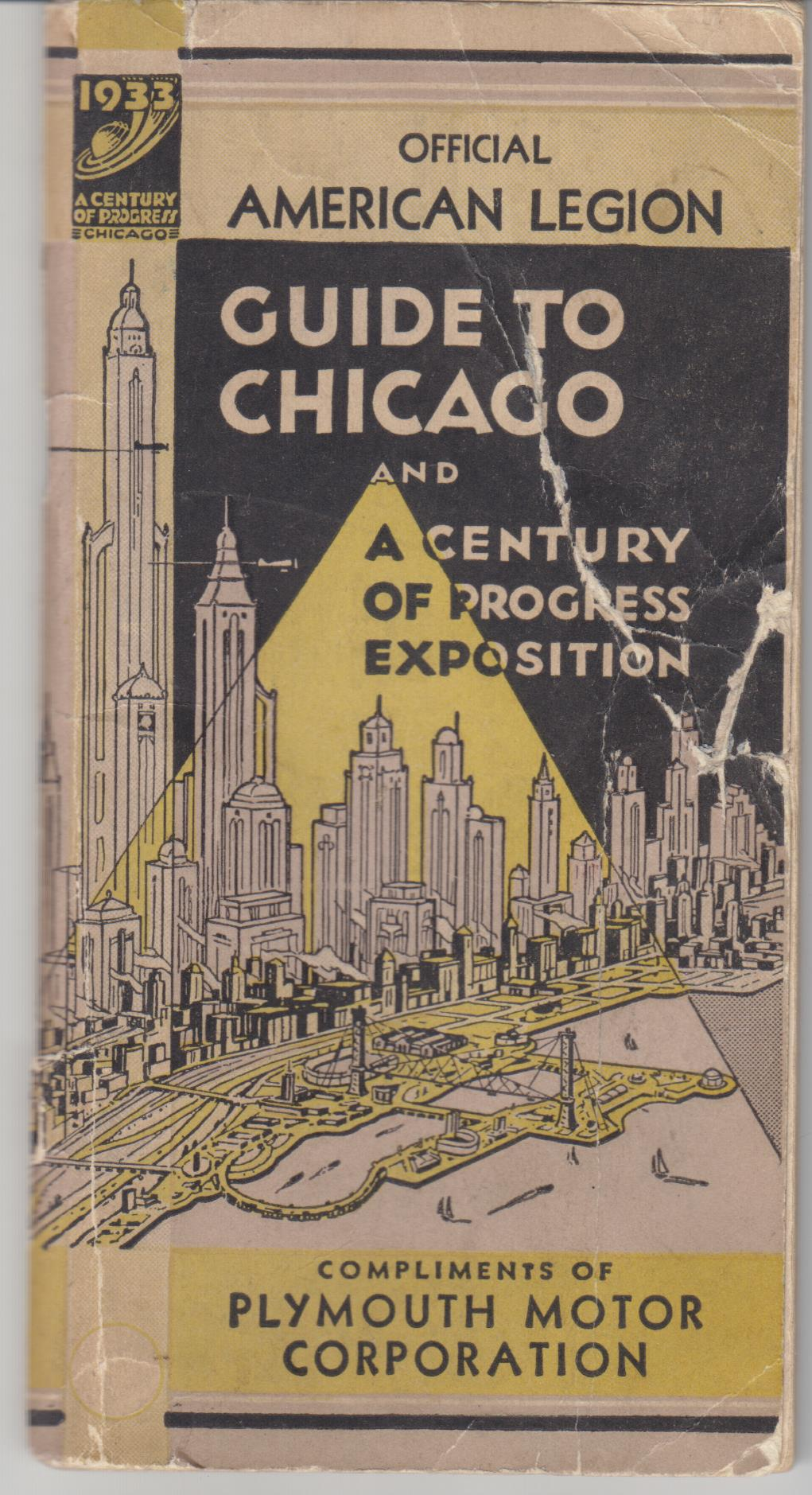 Image for Official American Legion Guide To Chicago and Century of Progress Exposition