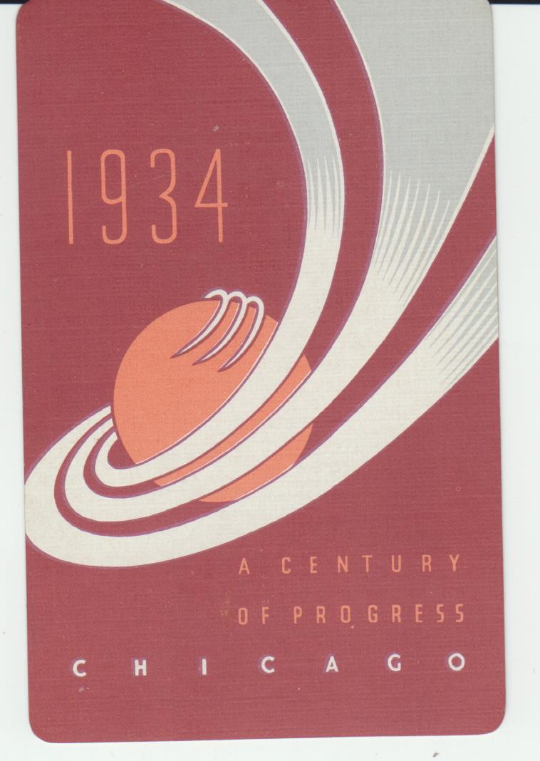 Image for 1934 World's Fair Playing Cards. A Century of Progress.. Chicago