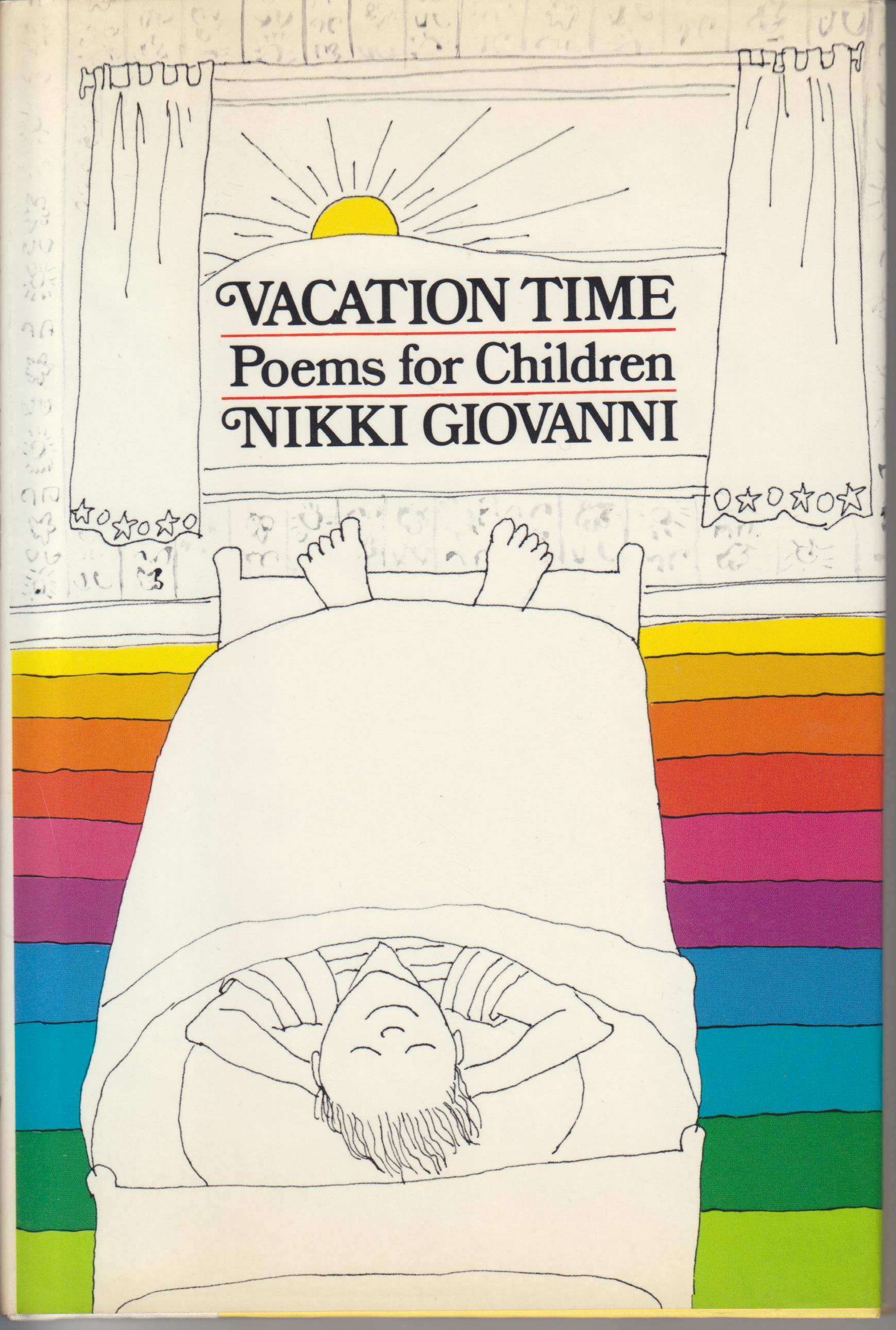 Image for Vacation Time. Poems for Children