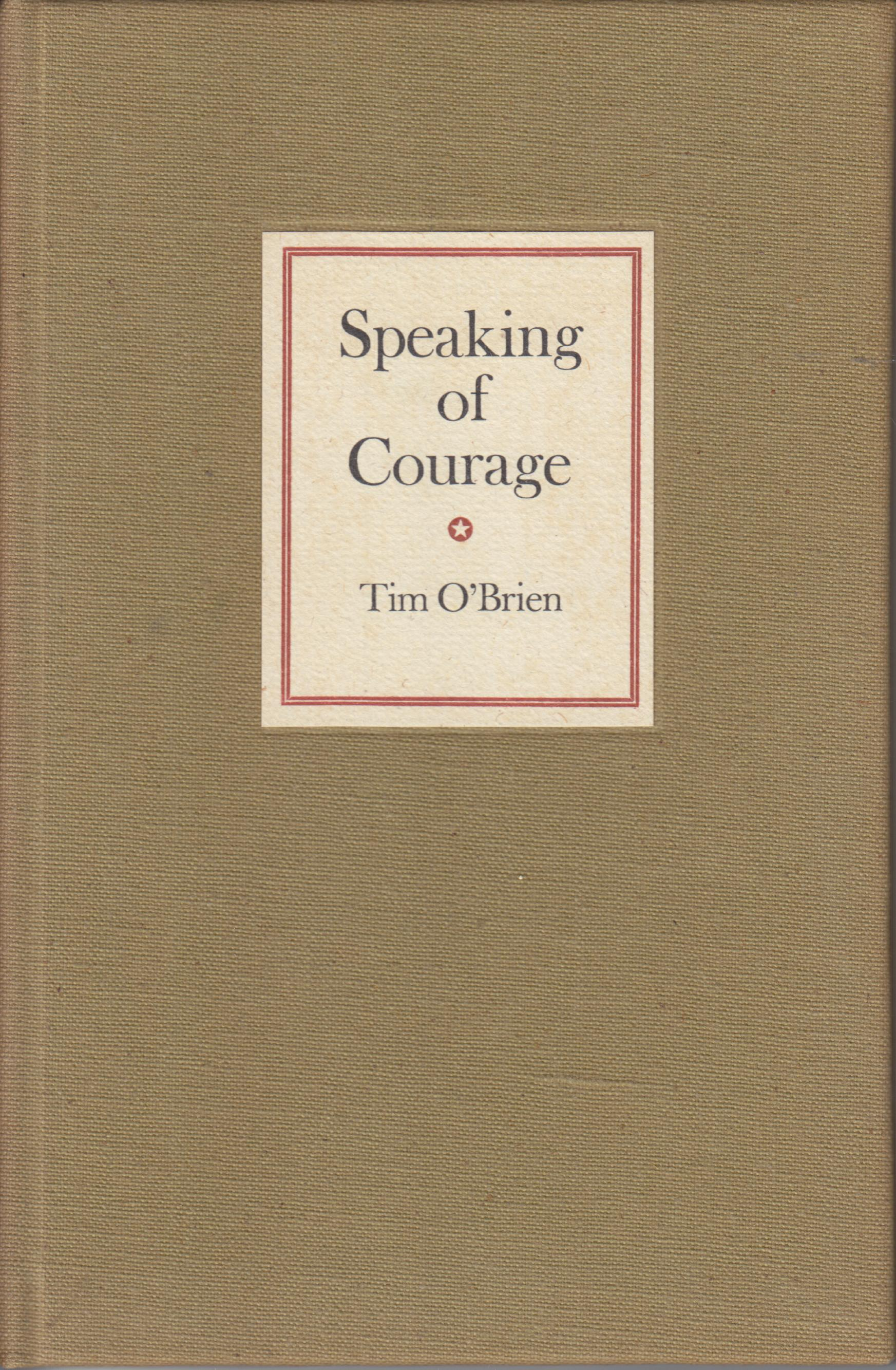 Image for Speaking of Courage