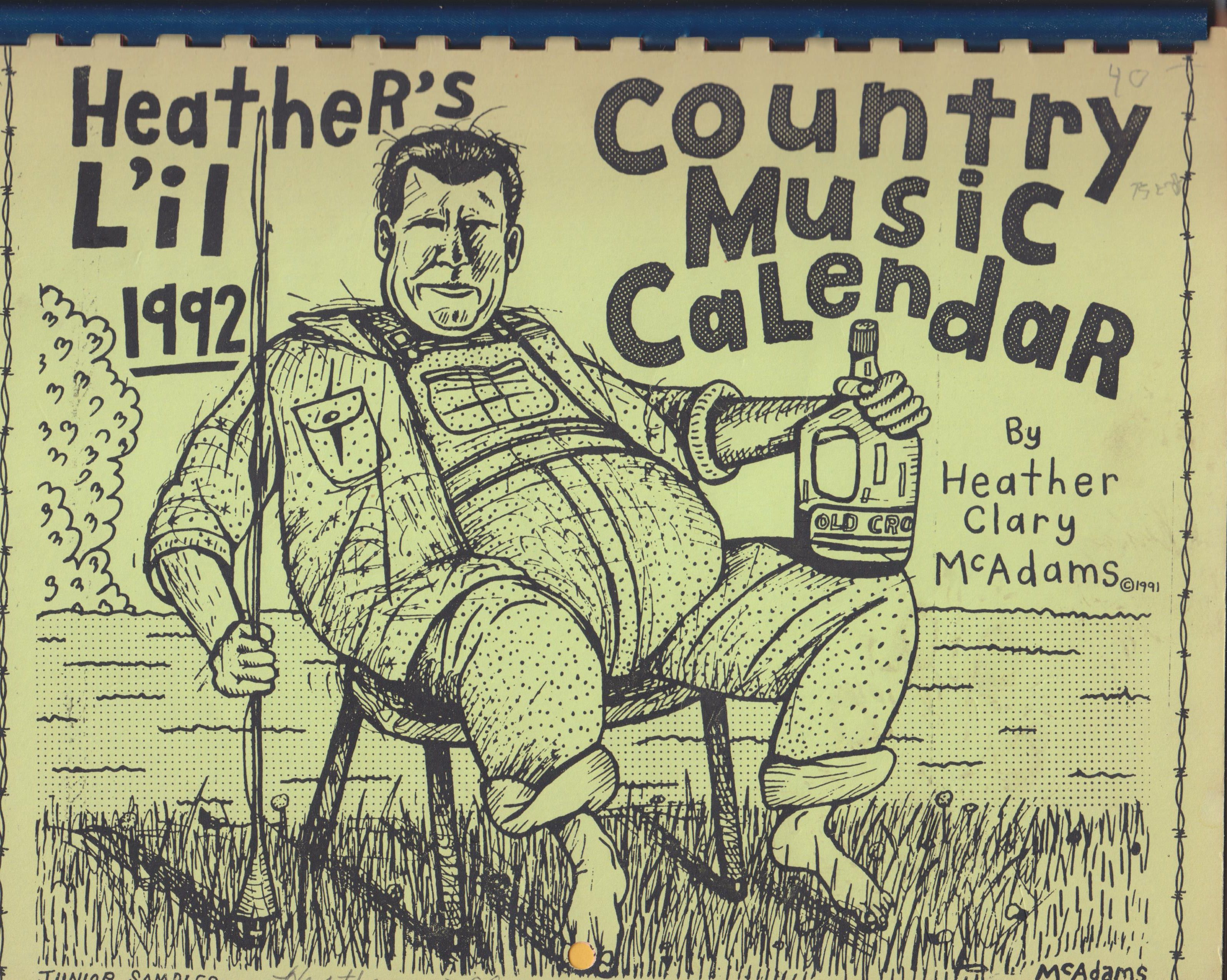 Image for Heather's Country Music Calendar 1992