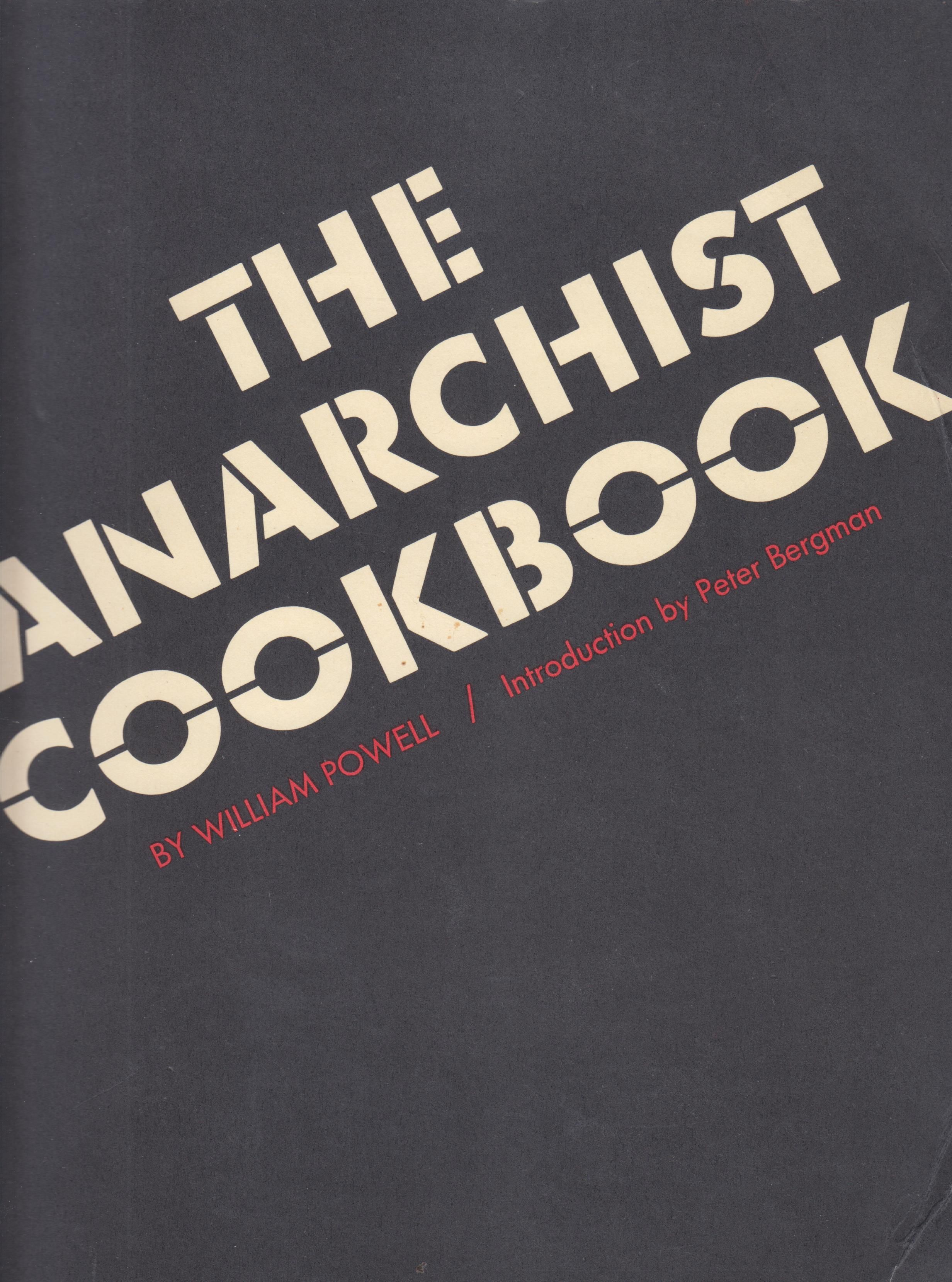 Image for The Anarchist Cookbook
