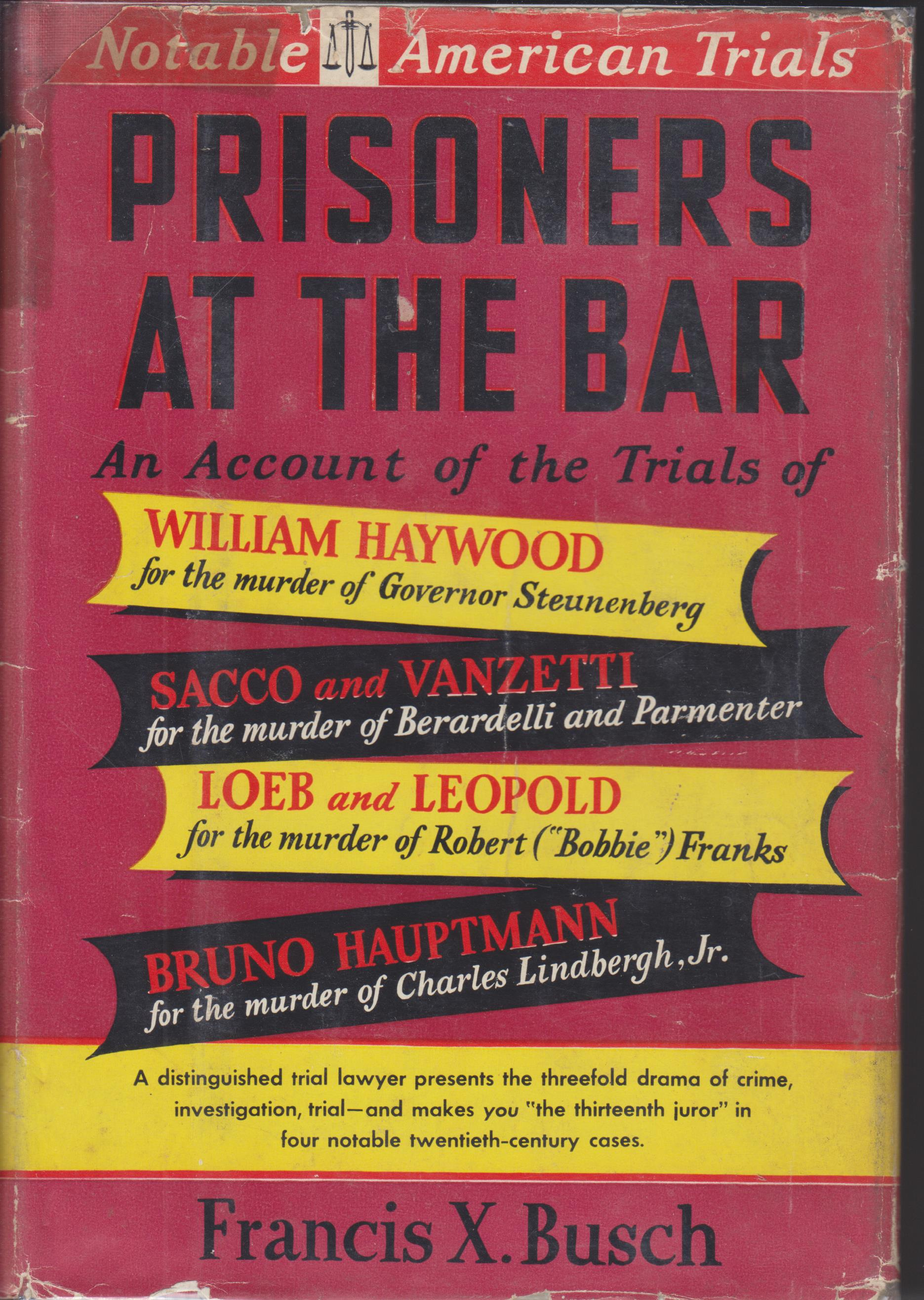 Image for Prisoners At The Bar