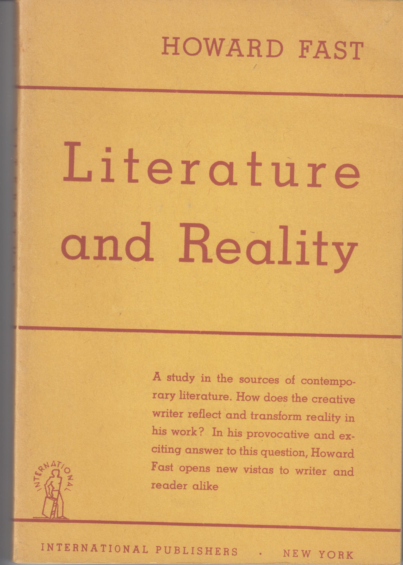 Image for Literature And Reality