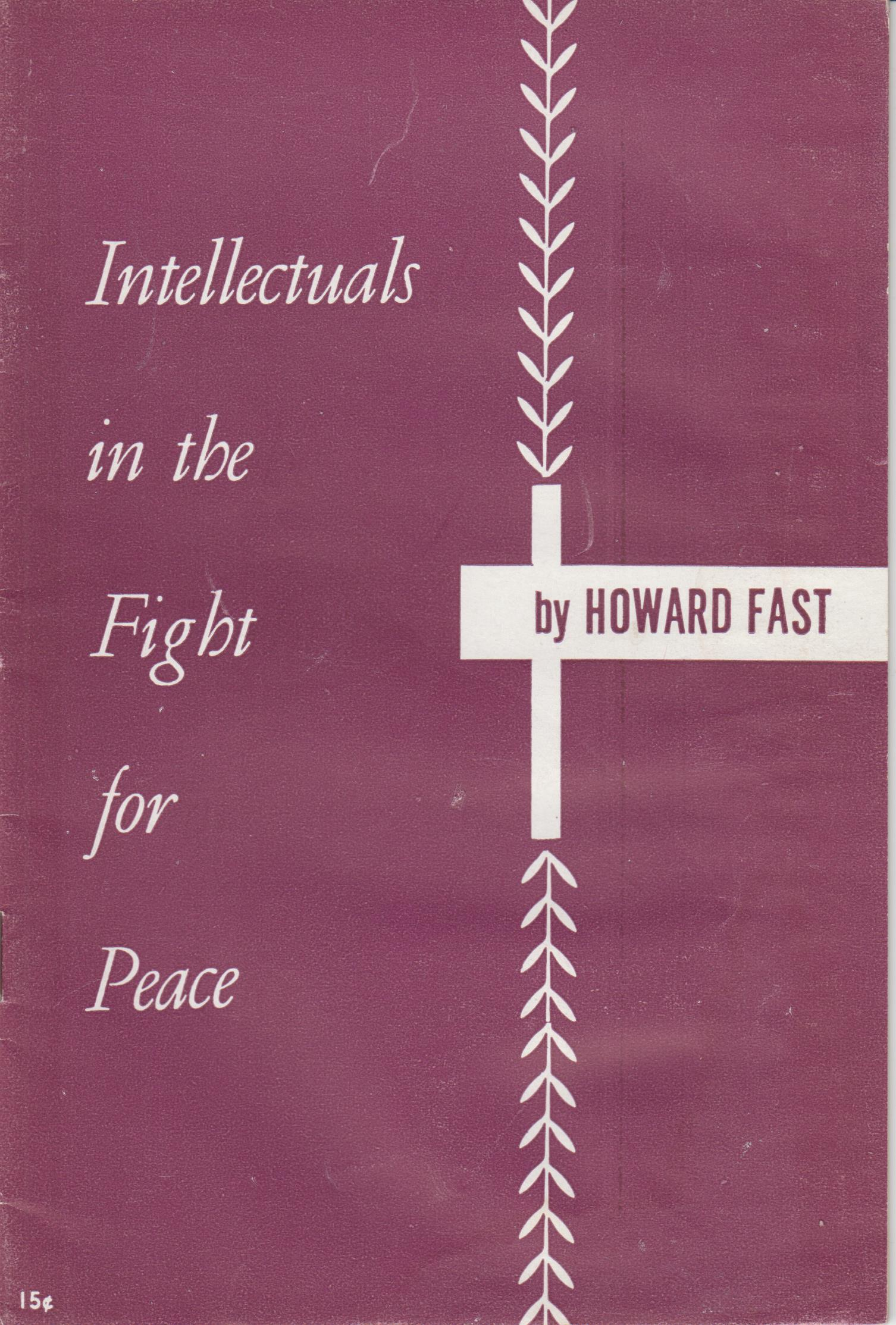 Image for Intellectuals In The Fight For Peace