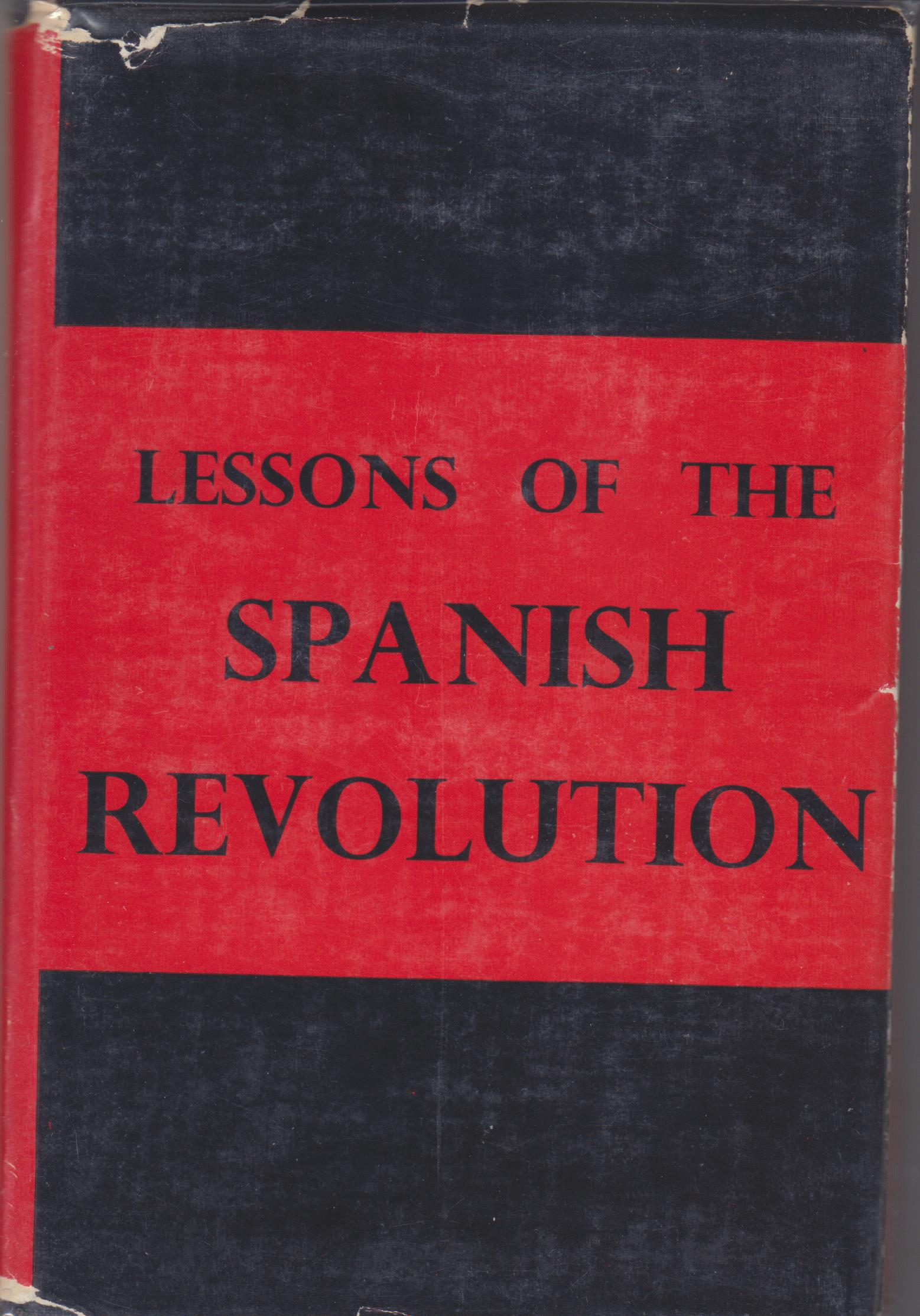 Image for Lessons of the Spanish Revolution