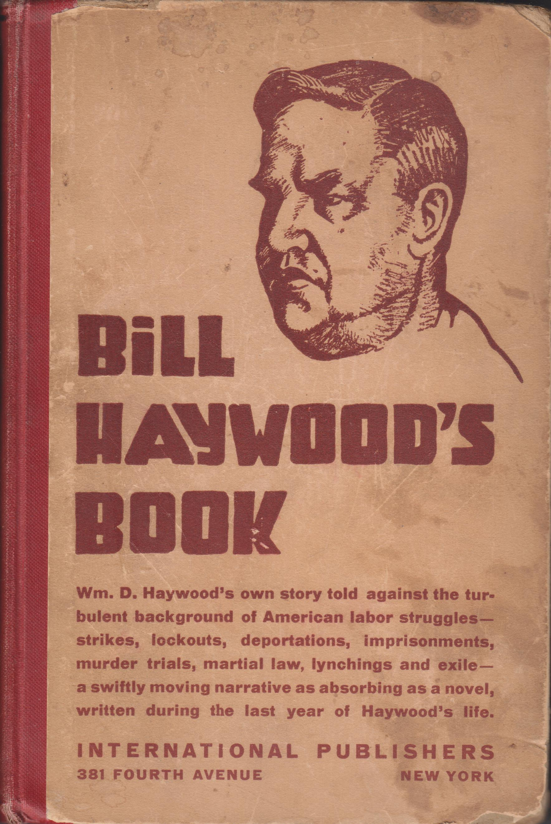 Image for Bill Haywood's Book. The Autobiography of William D. Haywood
