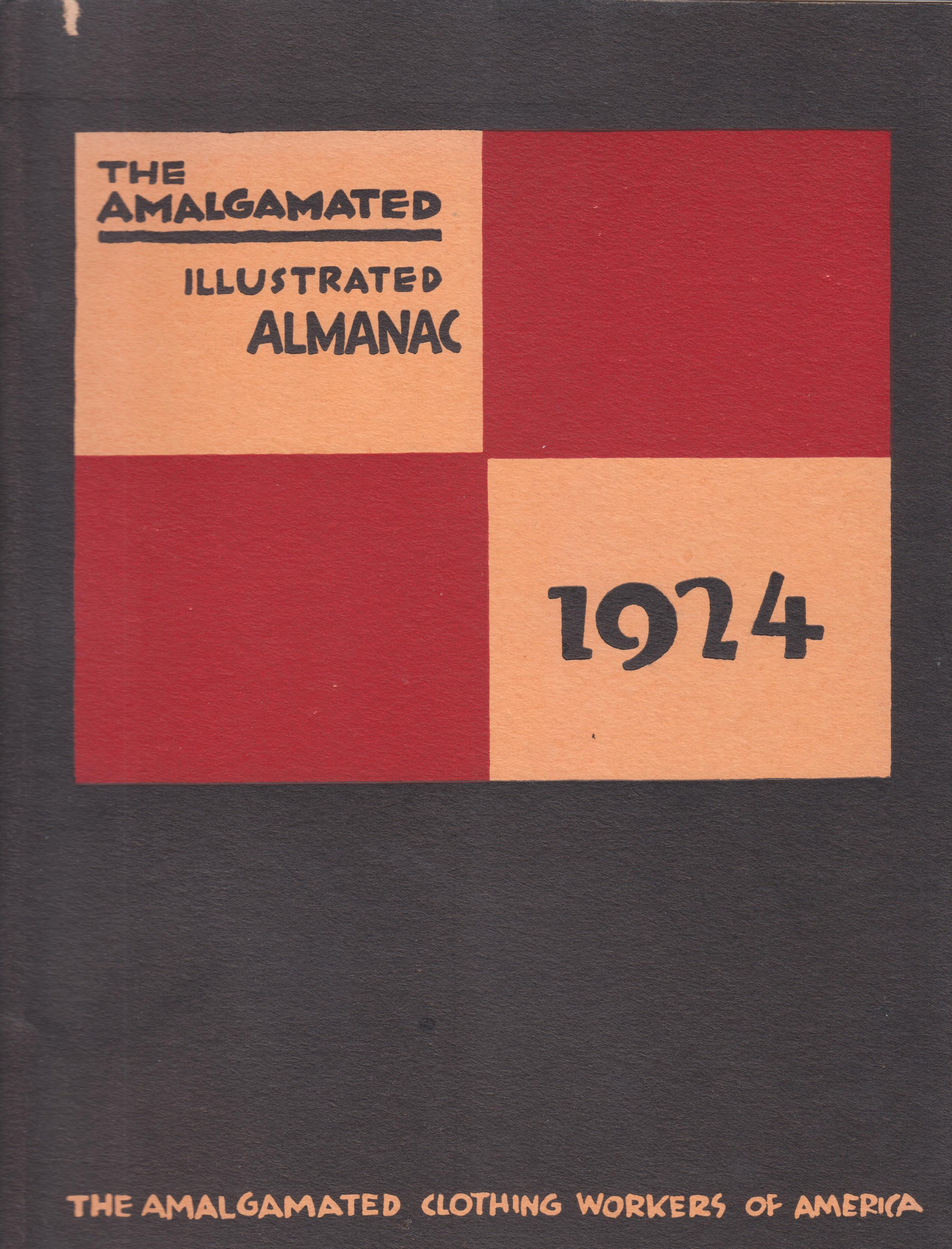Image for The Amalgamated Illustrated Almanac--1924 (Second Year of Publication)