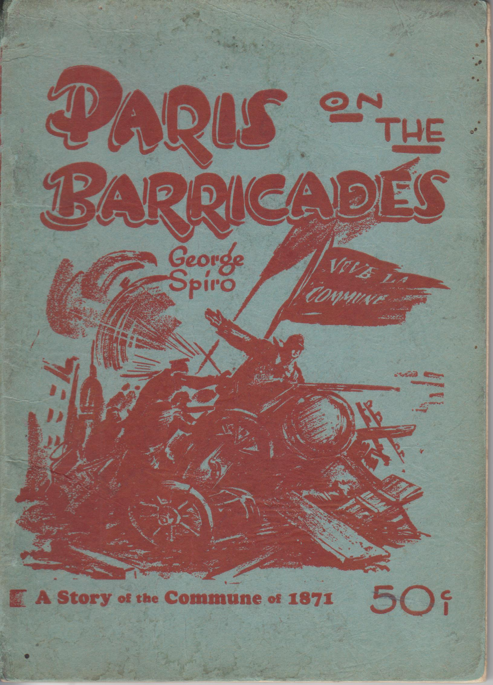 Image for Paris On The Barricades. A Story Of The Commune Of 1871
