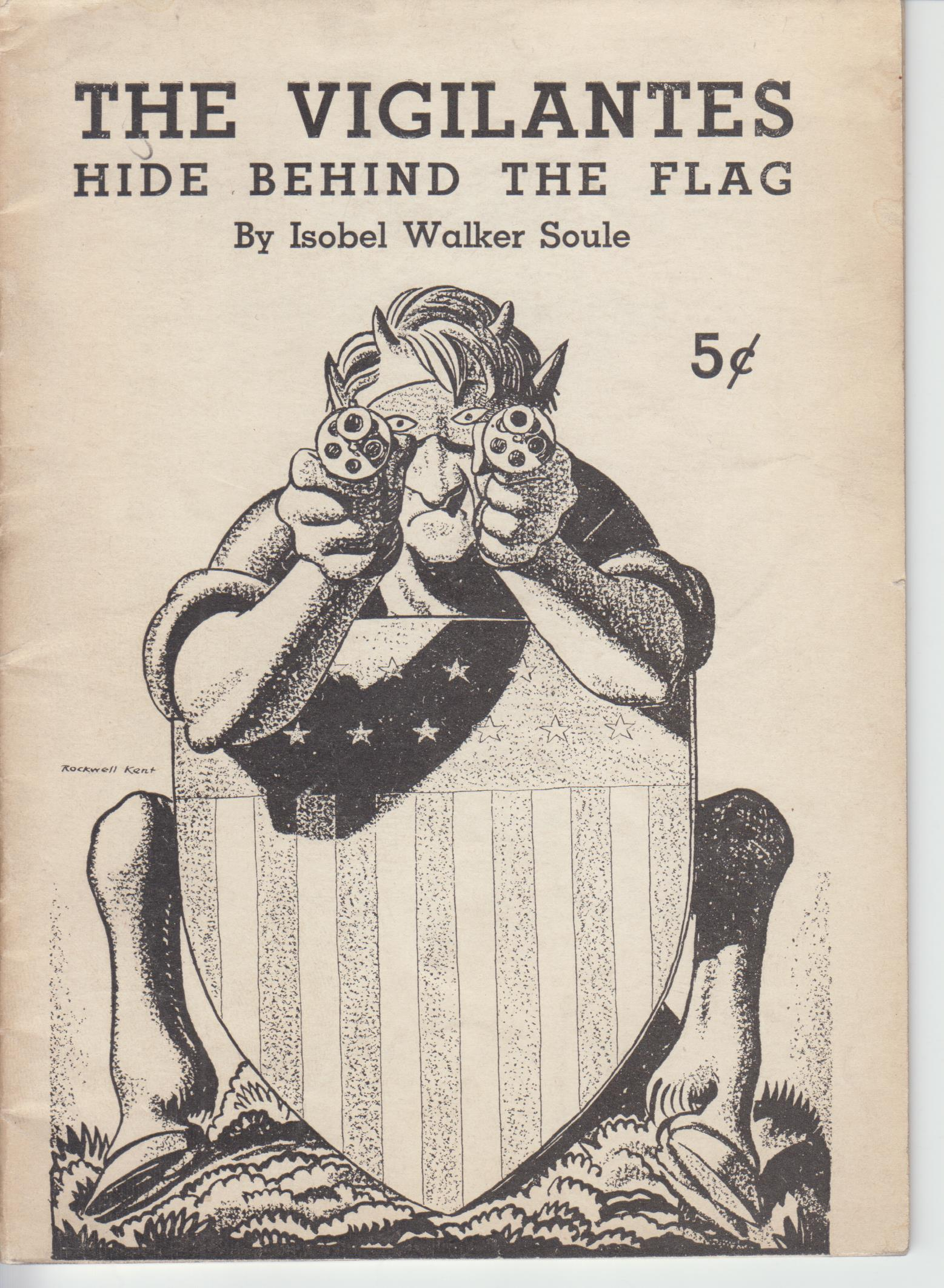 Image for The Vigilantes Hide Behind the Flag