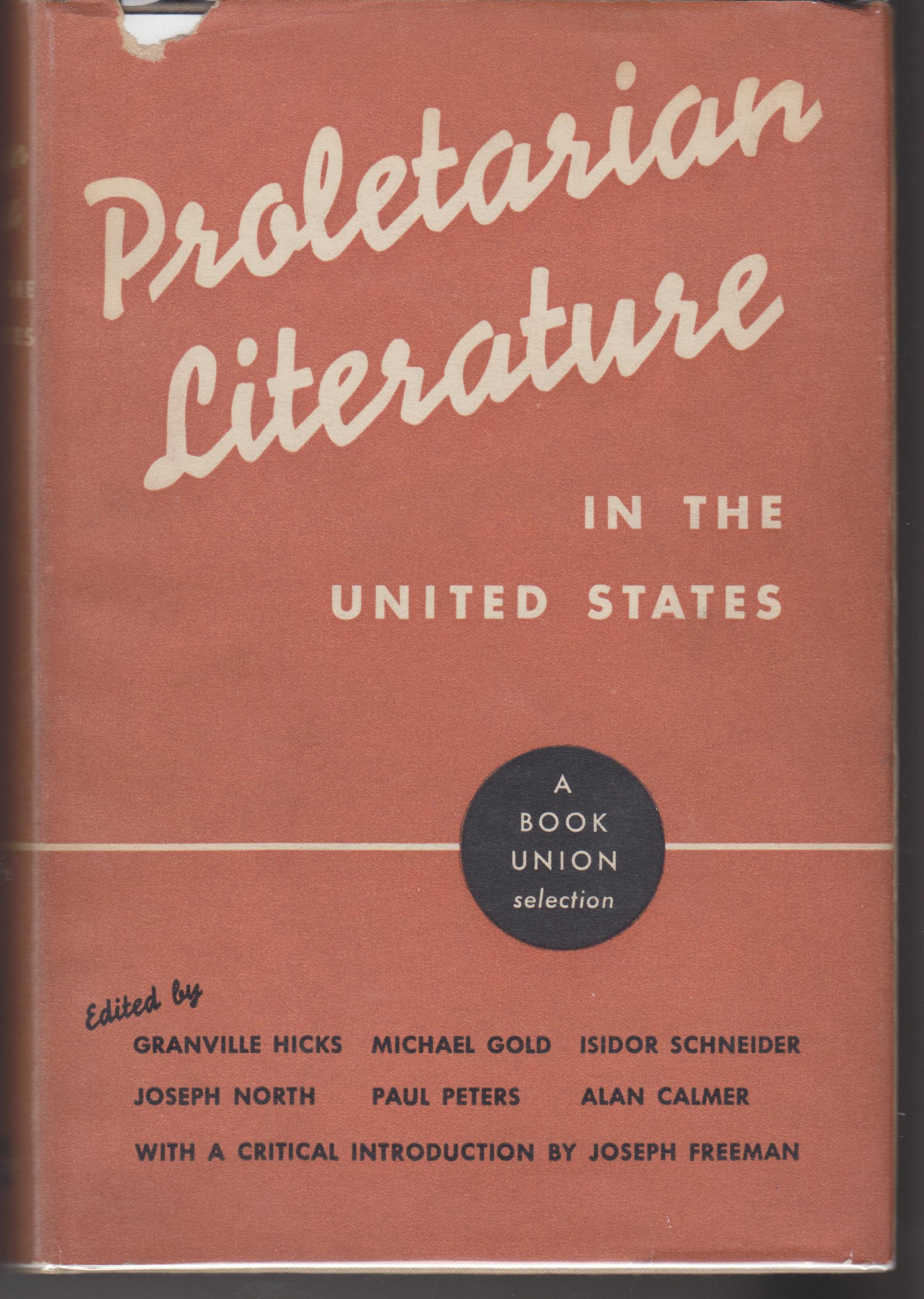 Image for Proletarian Literature in the United States