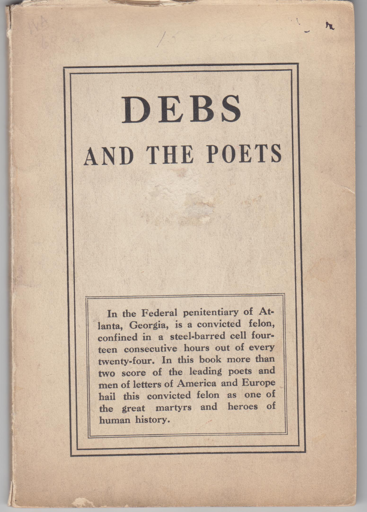 Image for Debs and the Poets