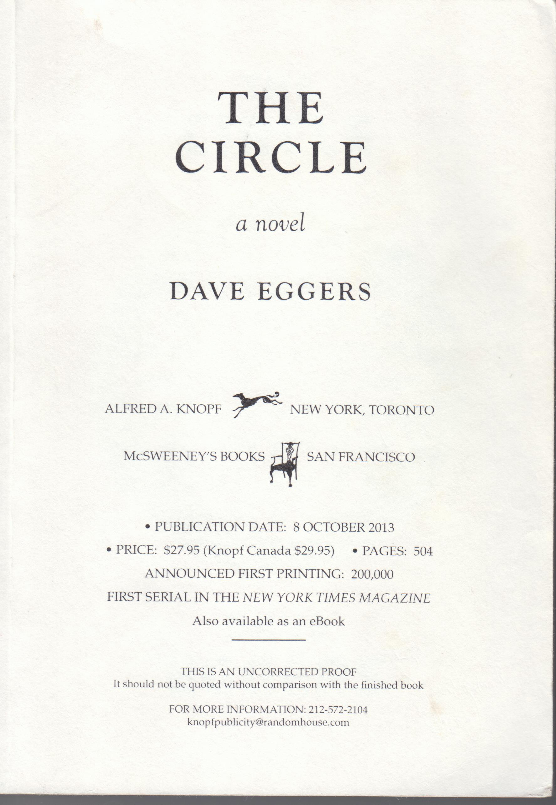 Image for The Circle